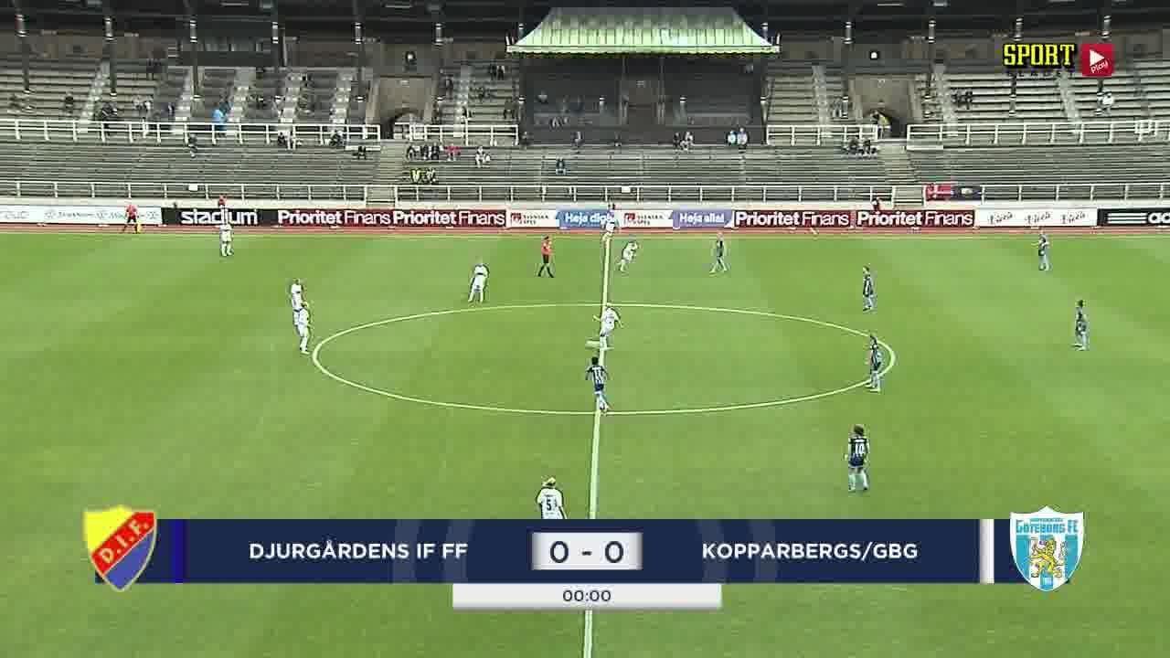 Highlights: Djurgården - Kopparbergs/Gbg 13 sept