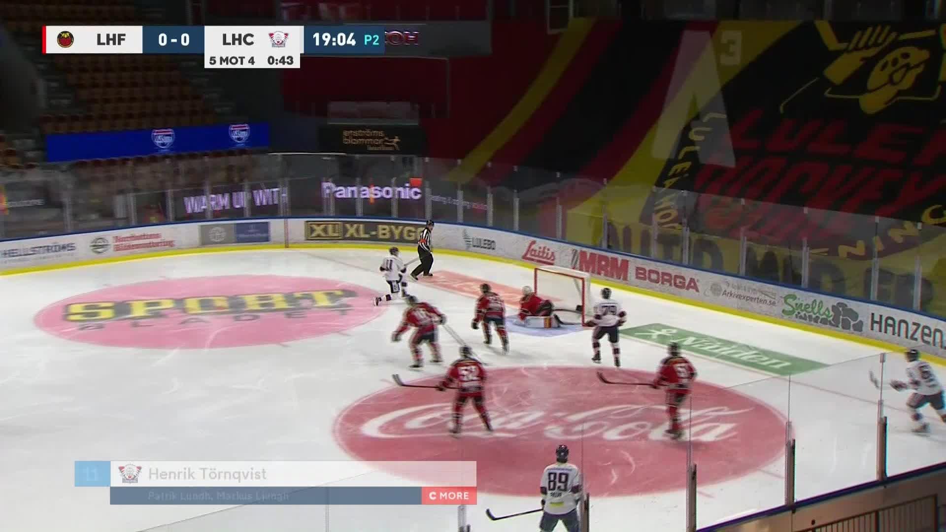 Luleå Hockey - Linköping HC 0-1