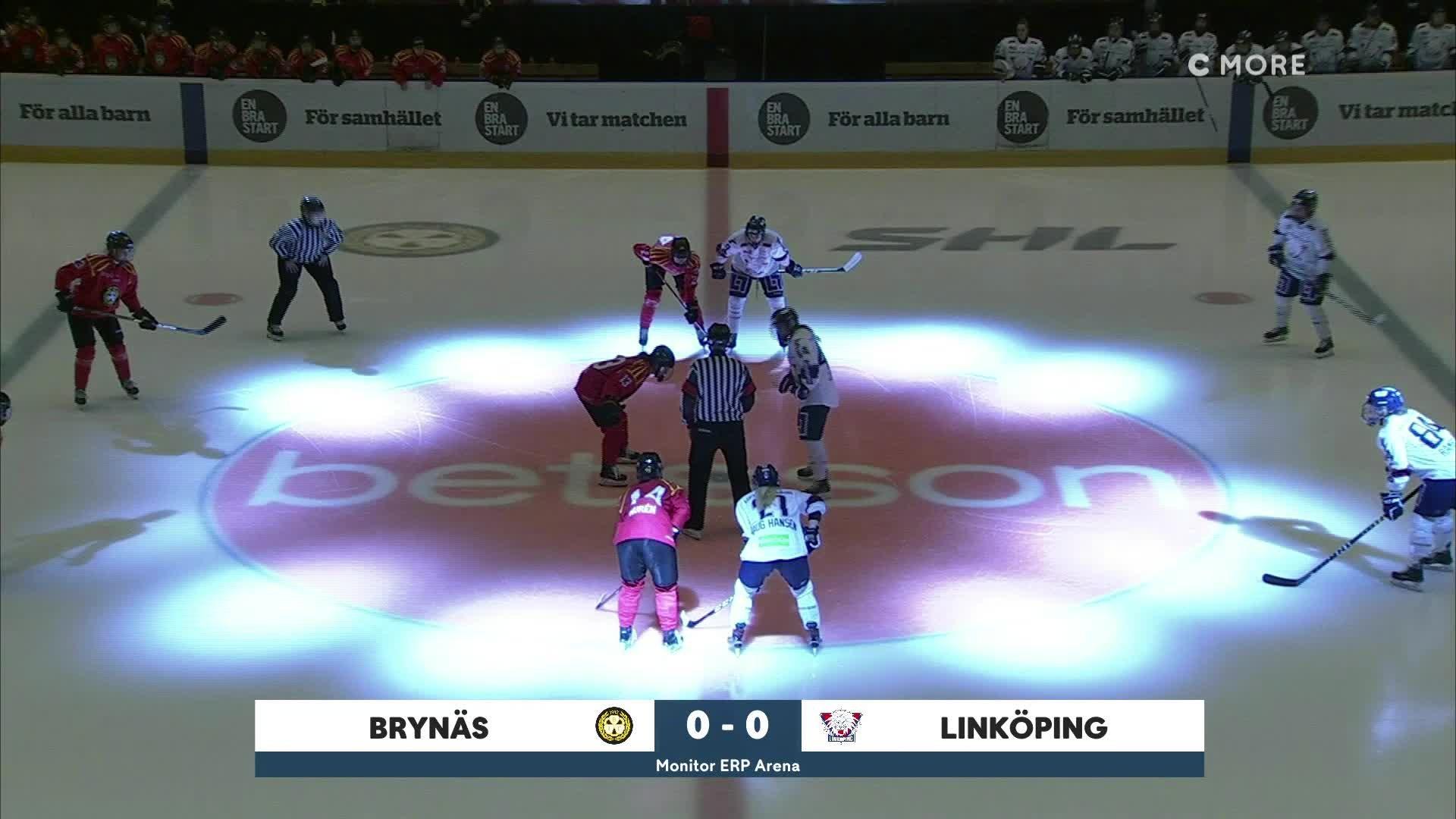 Highlights Brynäs-Linköping 25 januari