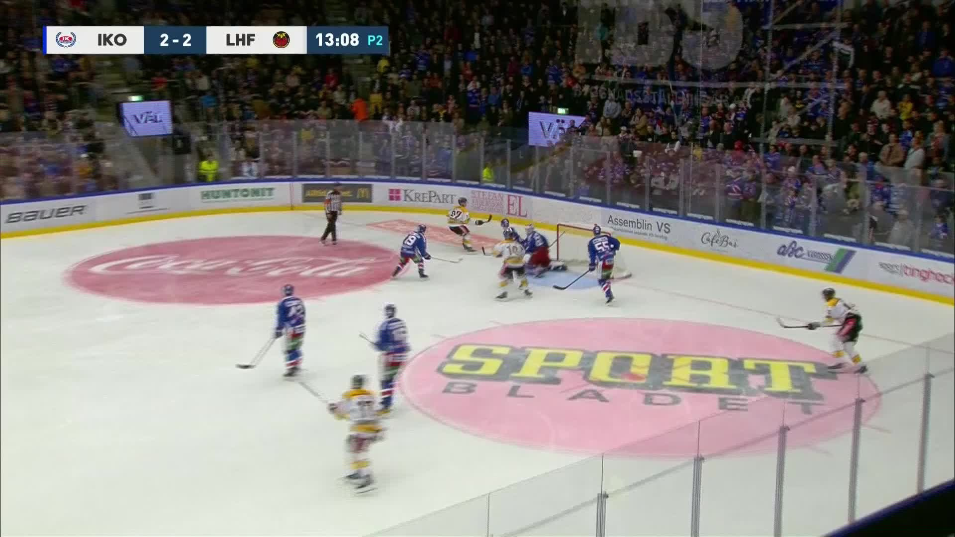 IK Oskarshamn - Luleå Hockey 2-3