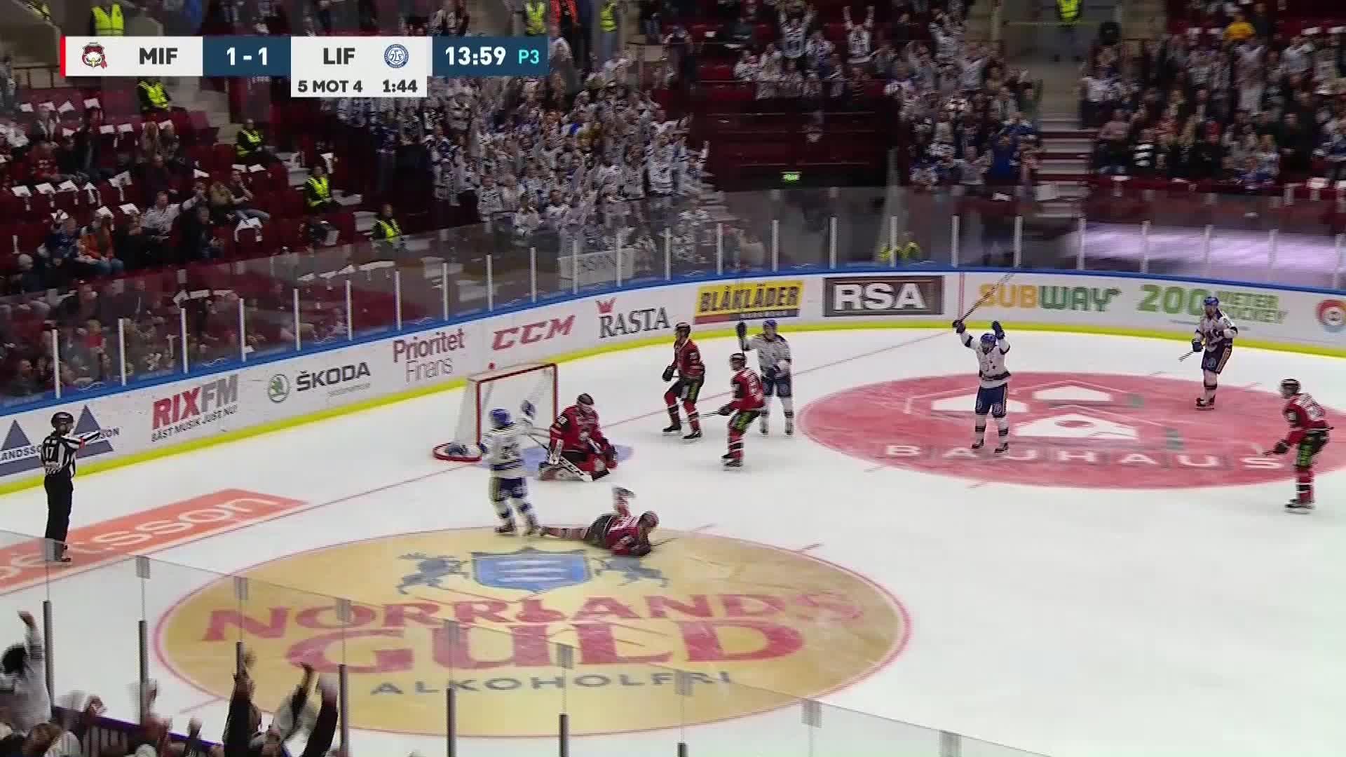 Malmö Redhawks - Leksands IF 1-2