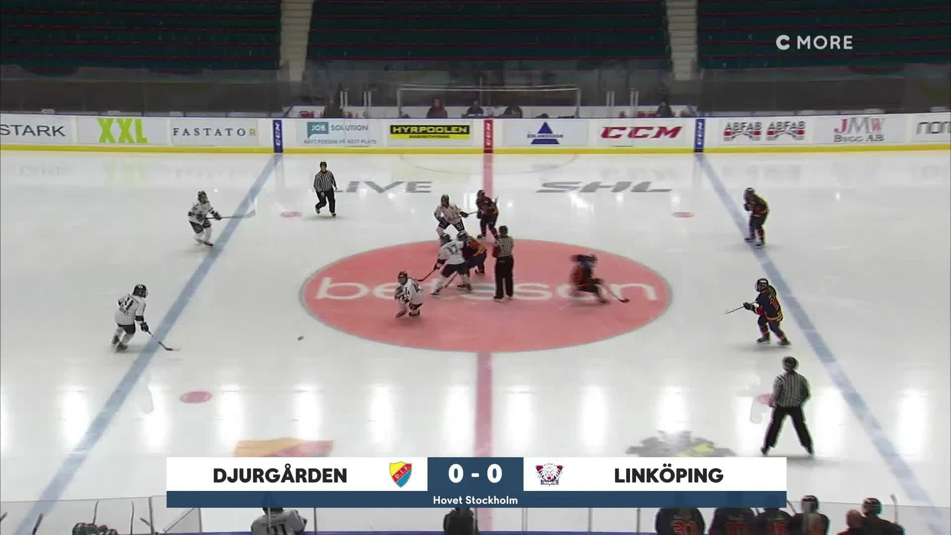 Highlights Djurgården-Linköping 31 januari
