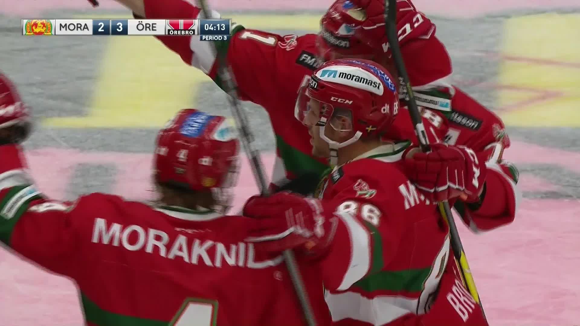 Mora IK - Örebro Hockey 2-3