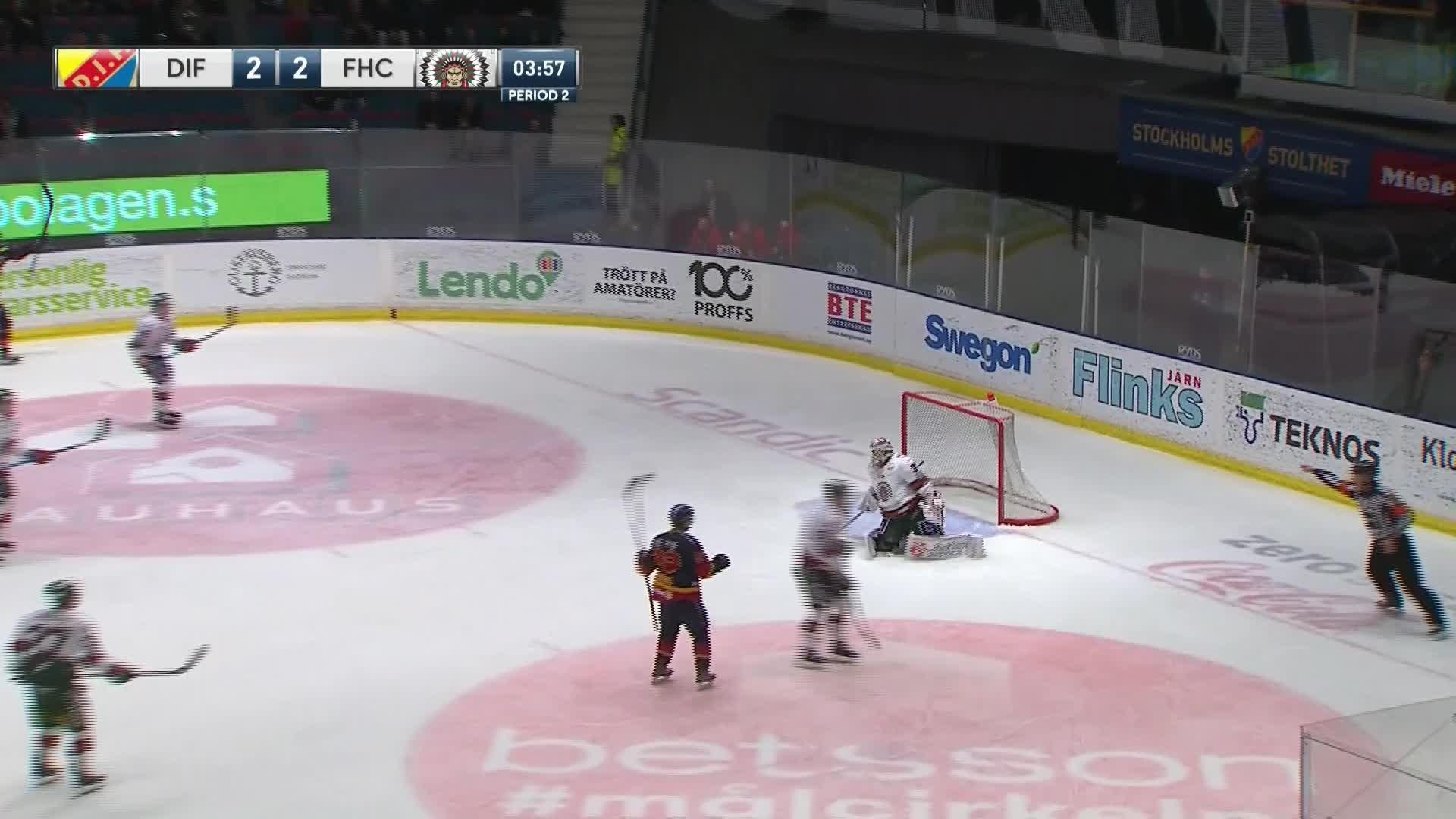 Djurgården Hockey - Frölunda HC 3-2