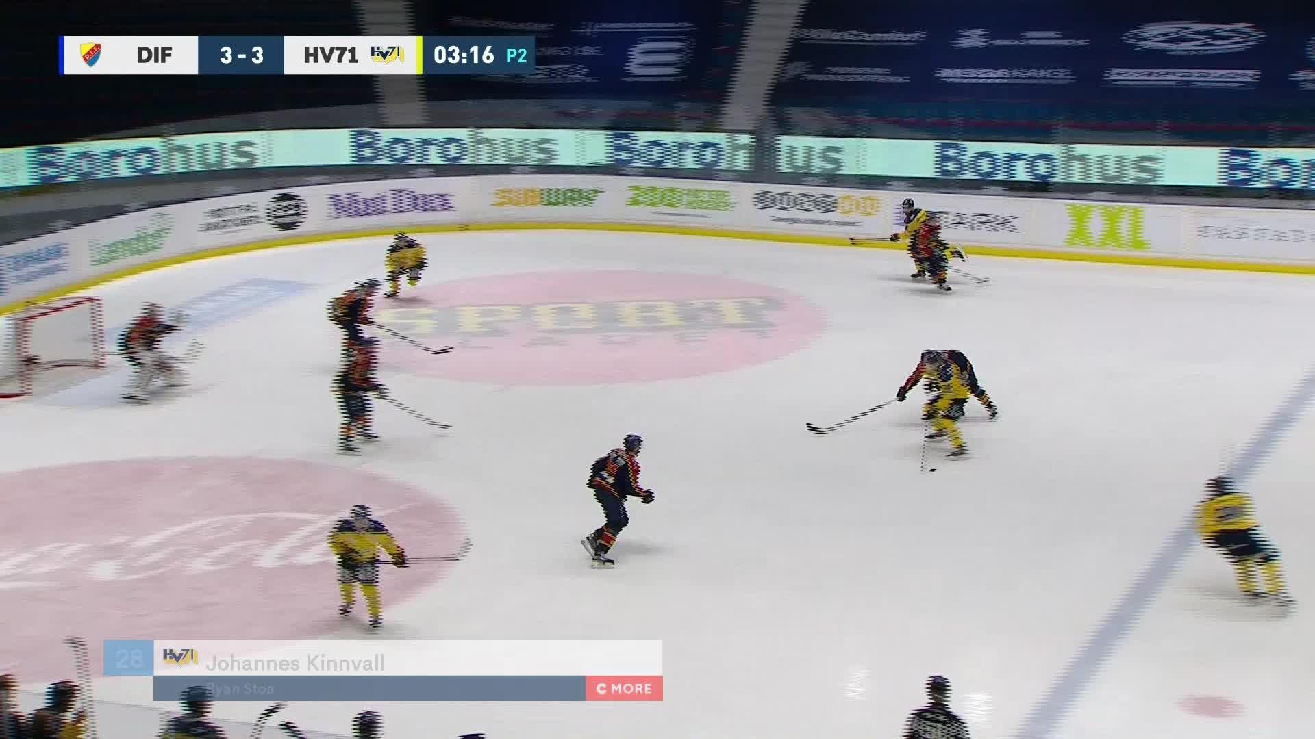 Djurgården Hockey - HV71 3-4