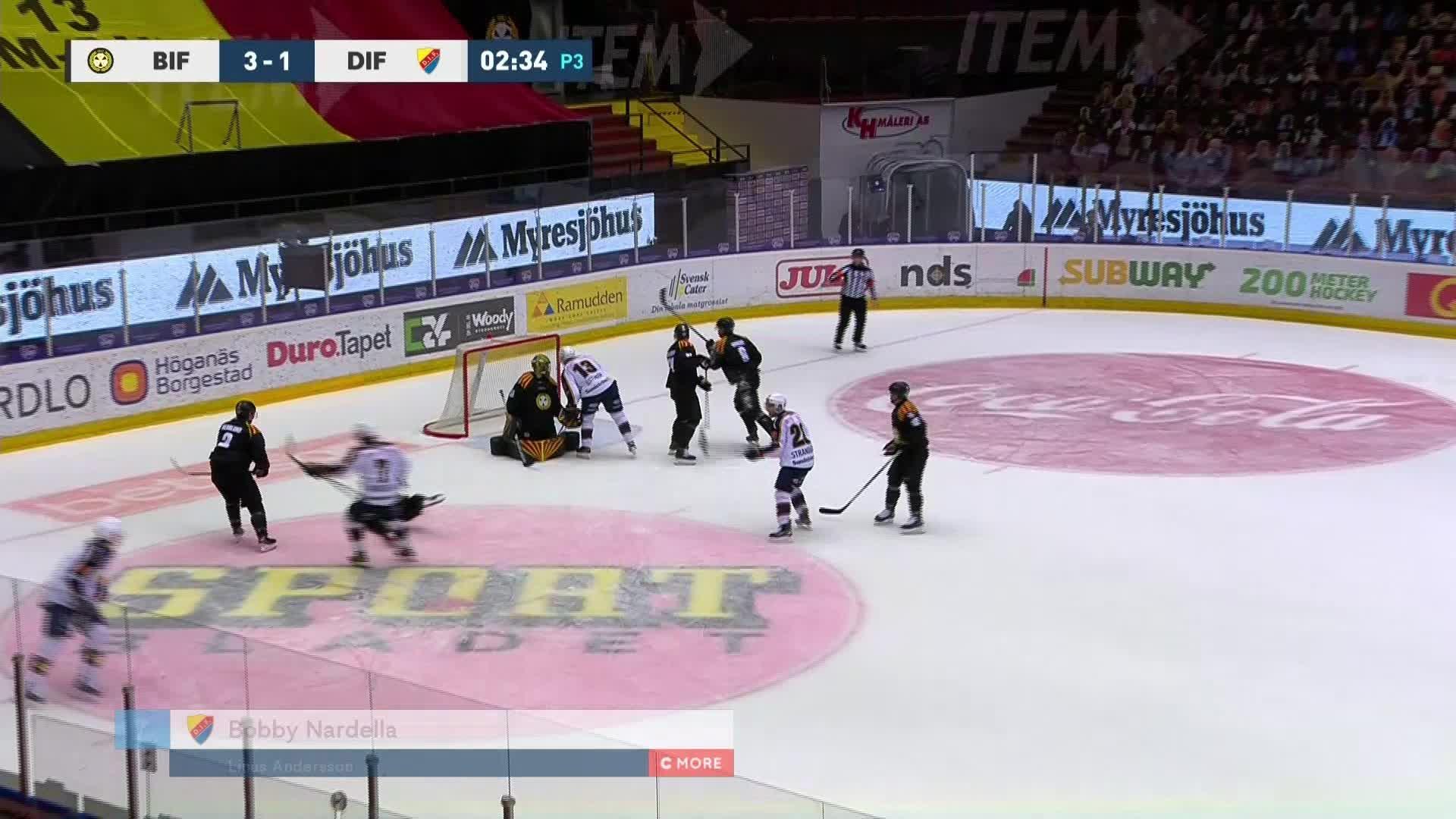 Brynäs IF - Djurgården Hockey 3-2