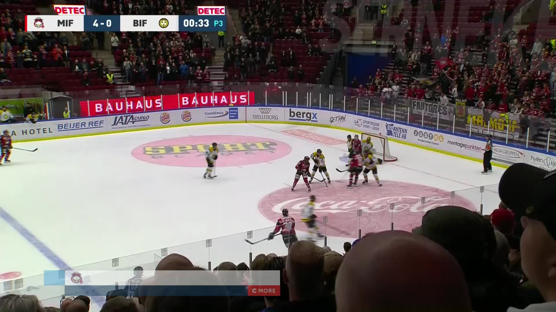 Malmö Redhawks - Brynäs IF 5-0