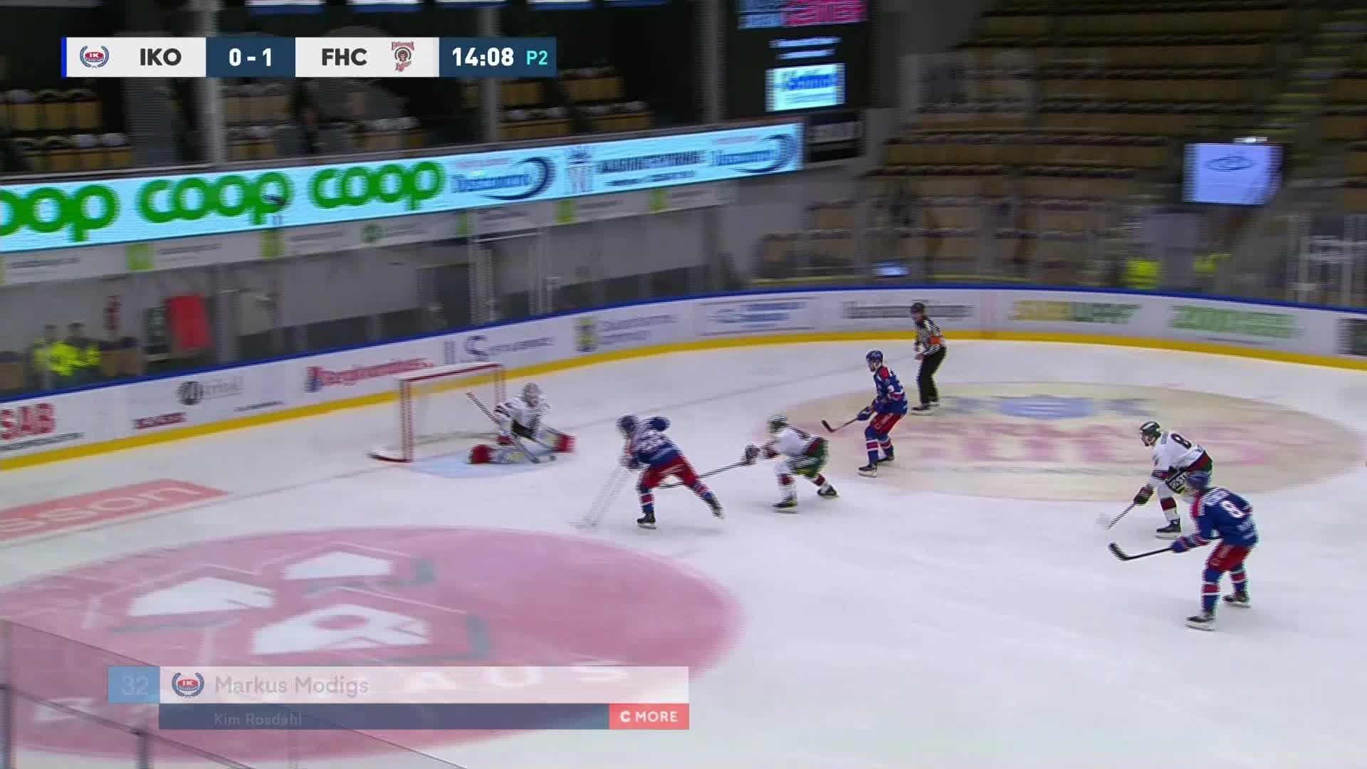 IK Oskarshamn - Frölunda HC 1-1