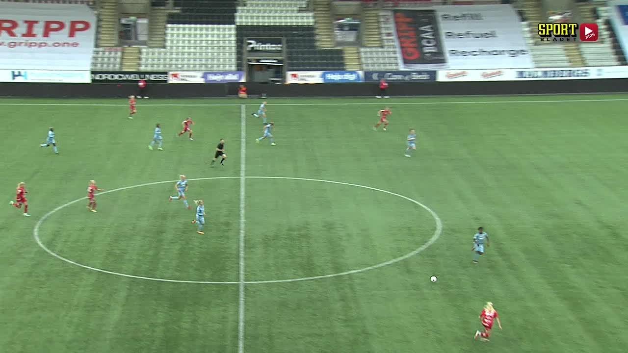Highlights: KIF Örebro DFF - Djurgårdens IF FF