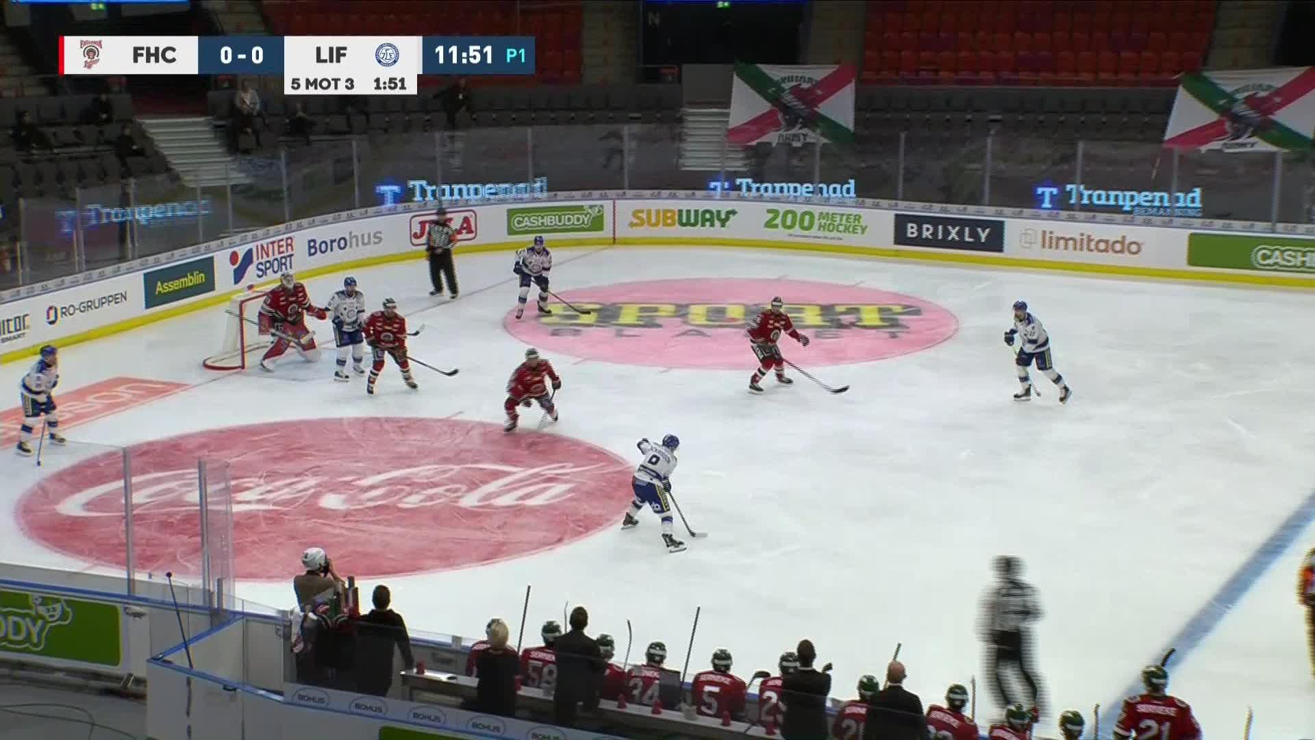 Frölunda HC - Leksands IF 0-1