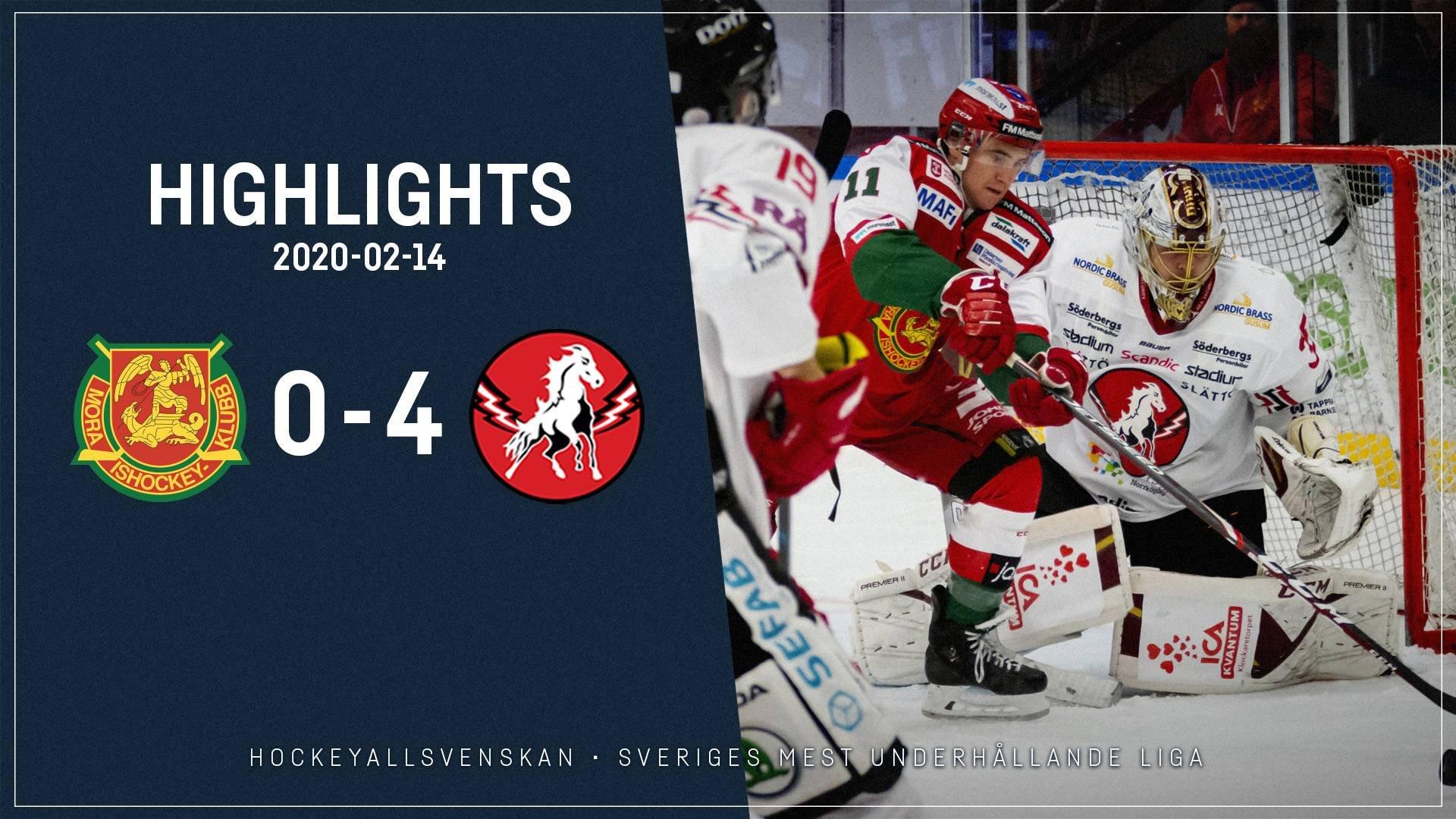 2020-02-14 Mora - Vita Hästen 0-4