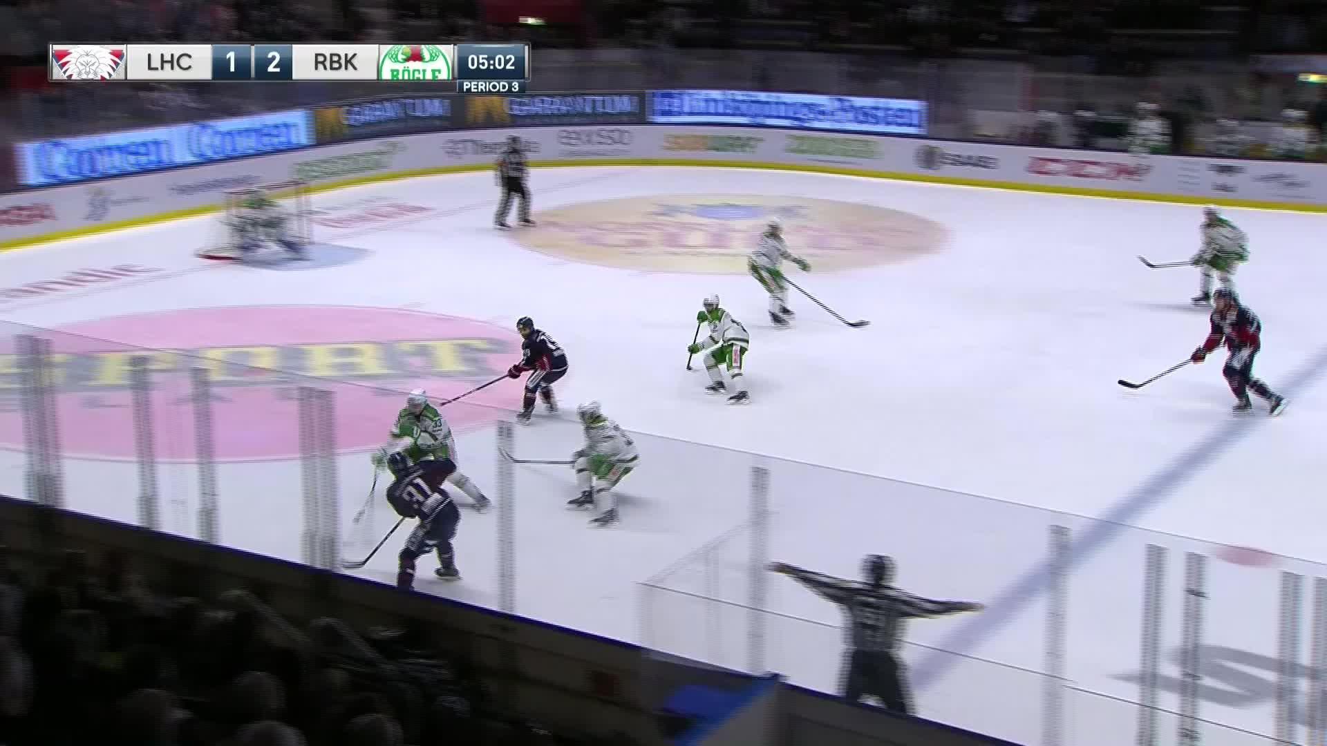Linköping HC - Rögle BK 2-2