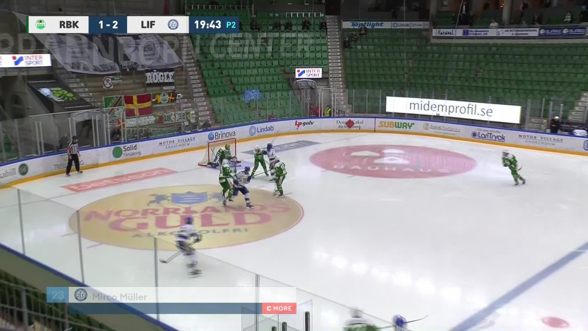 Rögle BK - Leksands IF 1-3