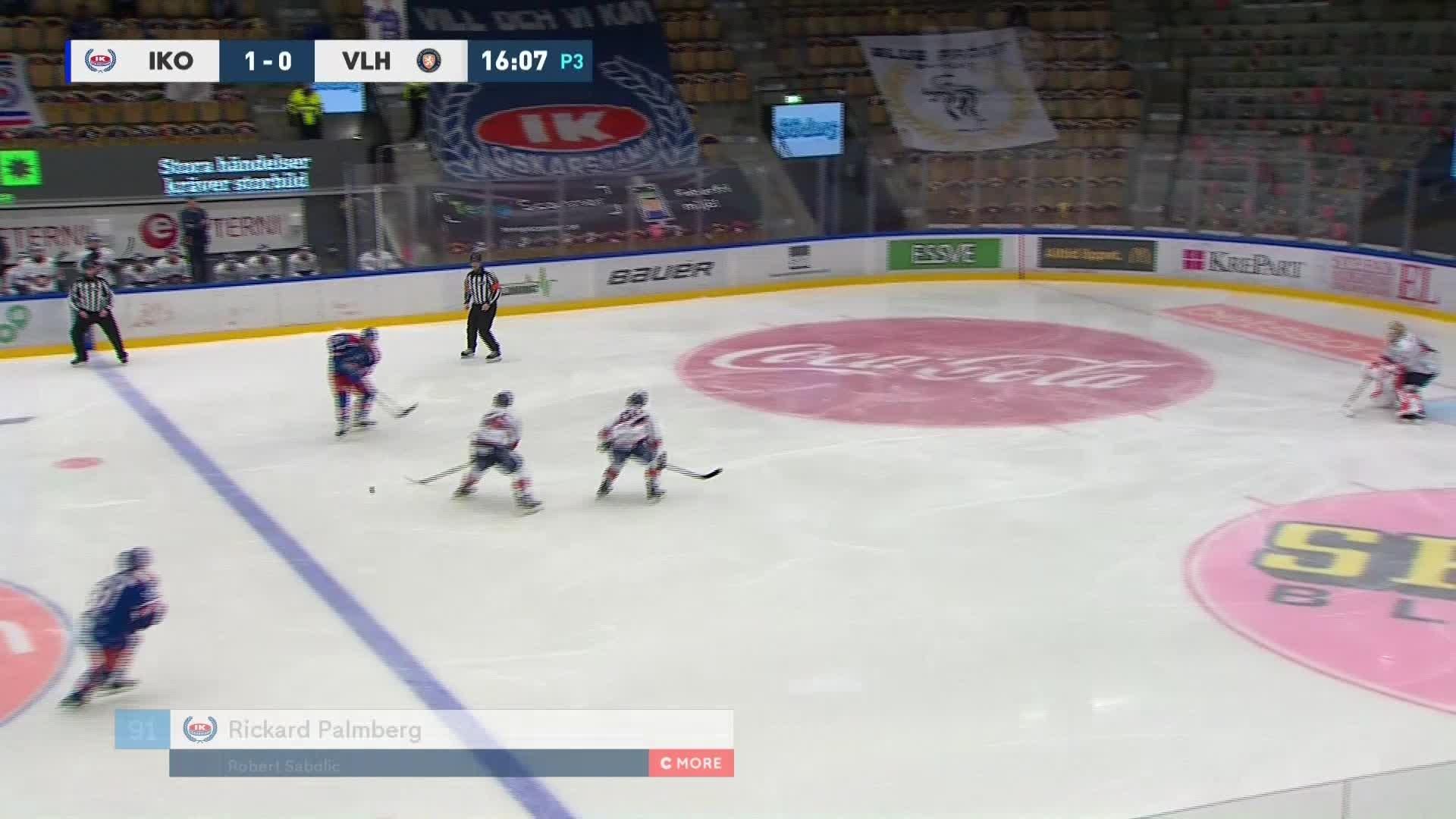 IK Oskarshamn - Växjö Lakers 2-0