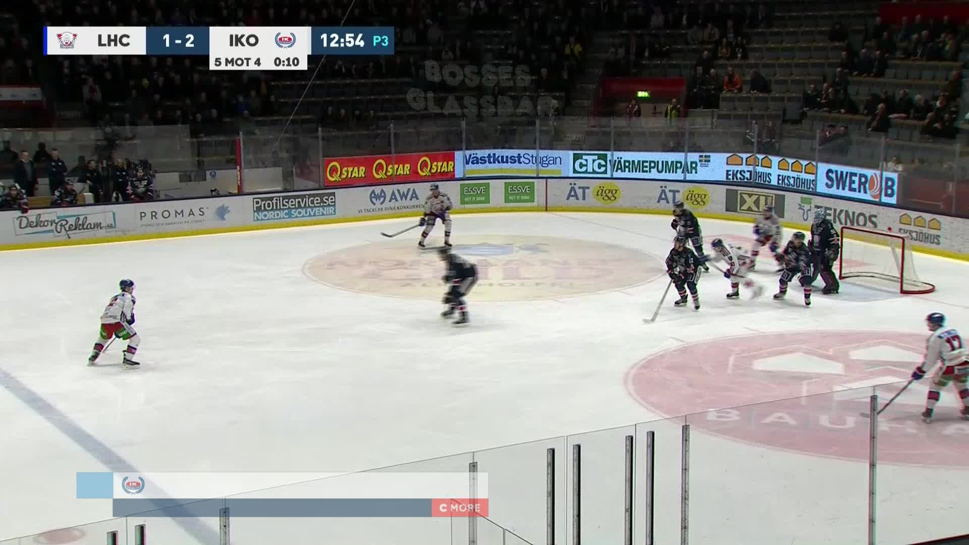 Linköping HC - IK Oskarshamn 1-3
