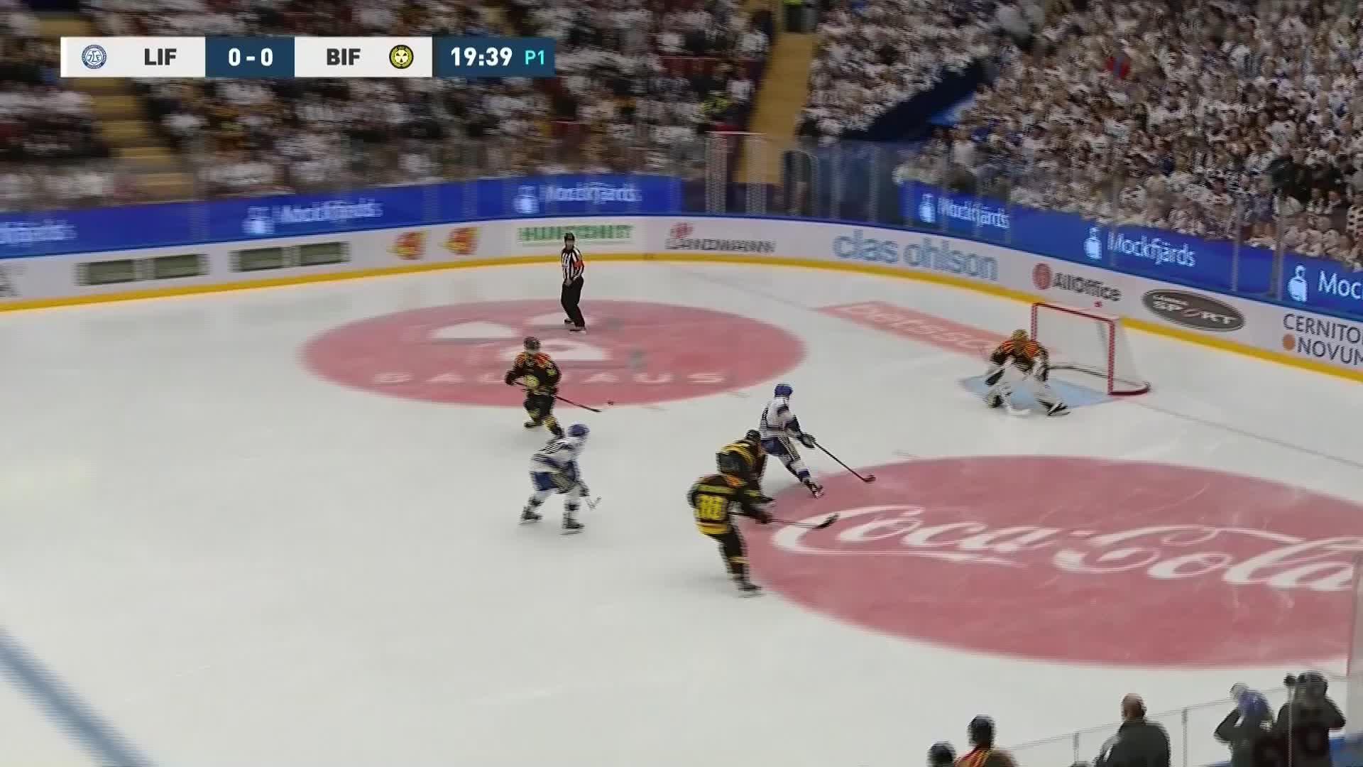 Leksands IF - Brynäs IF 1-0