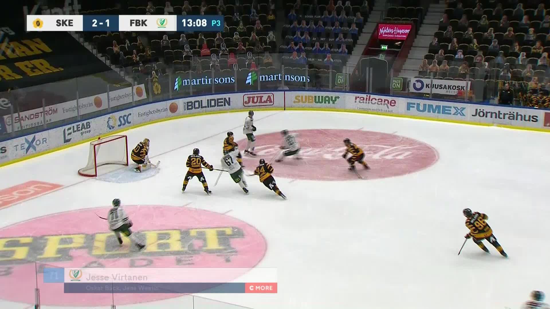 Skellefteå AIK - Färjestad BK 2-2