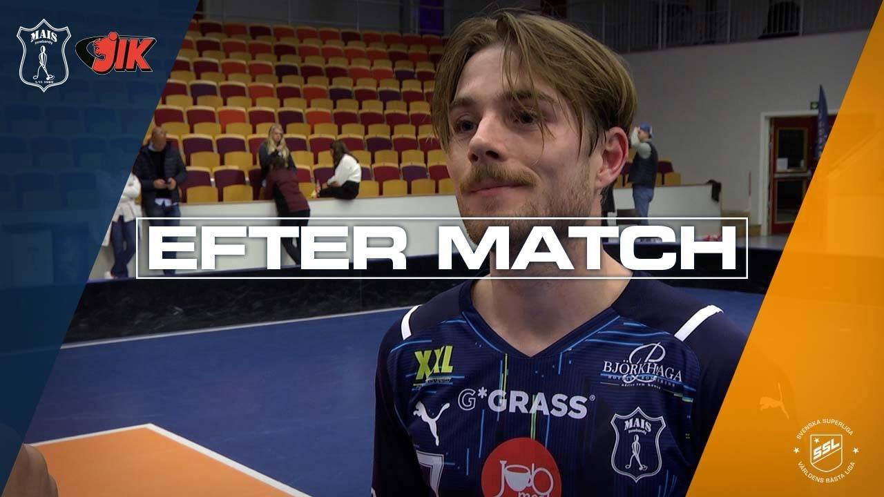 Ganevik efter segern mot JIK i Svenska Cupen