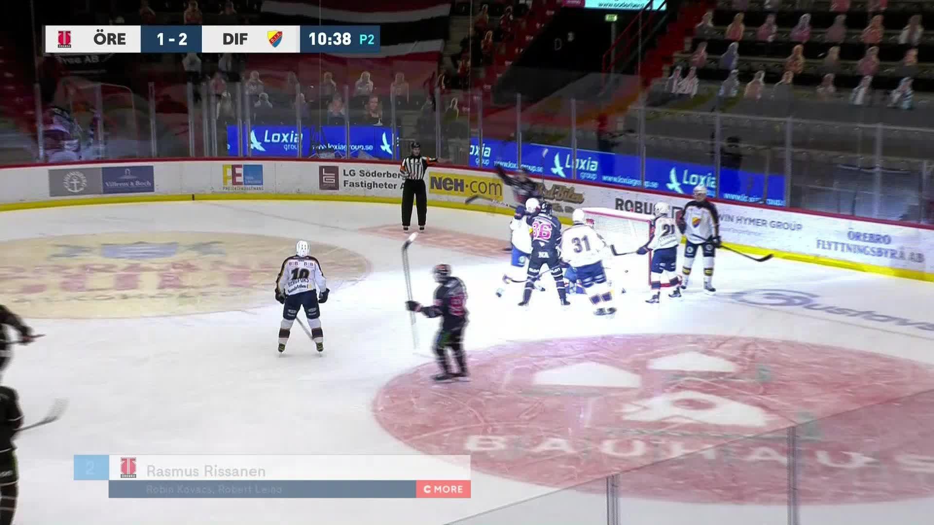 Örebro Hockey - Djurgården Hockey 2-2