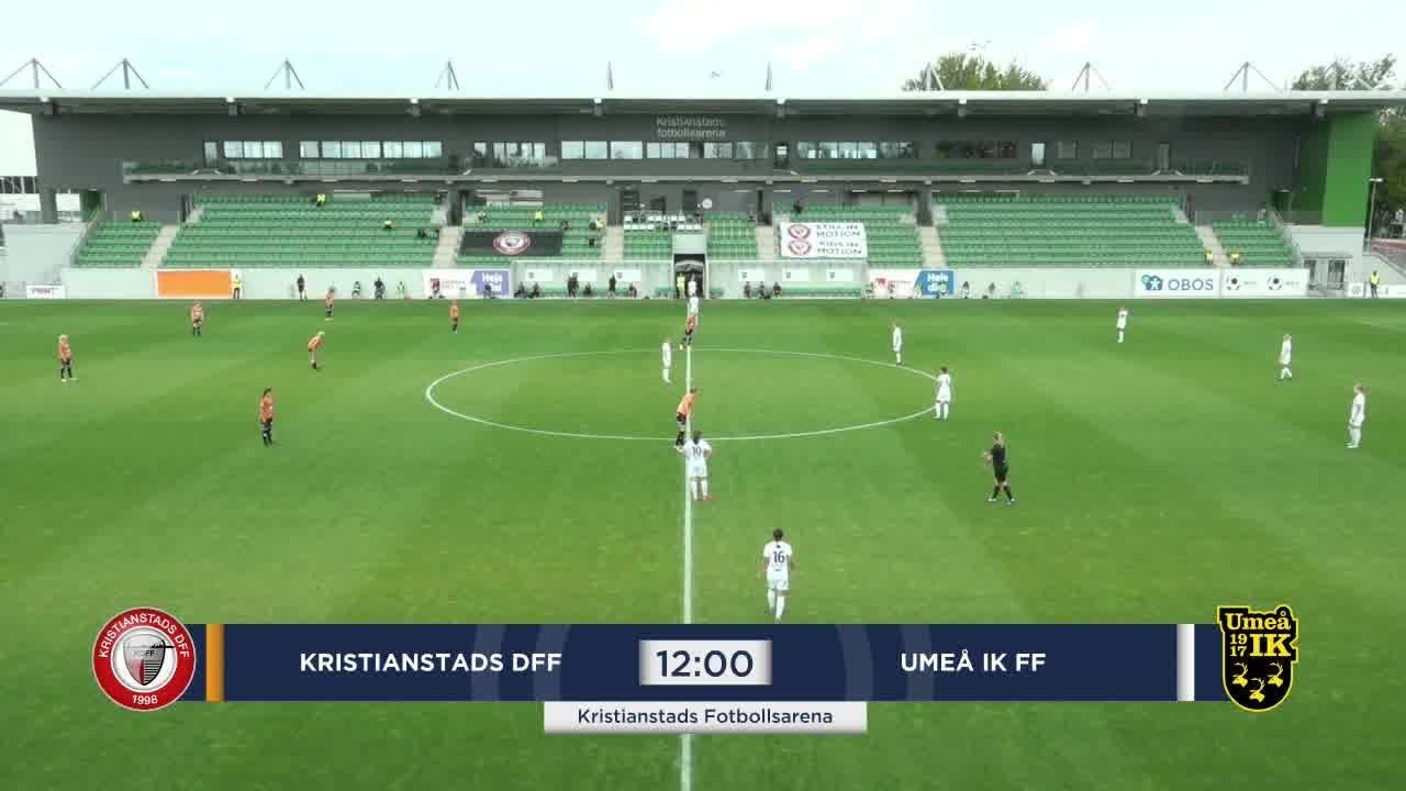 Highlights Kristianstad - Umeå 2 aug
