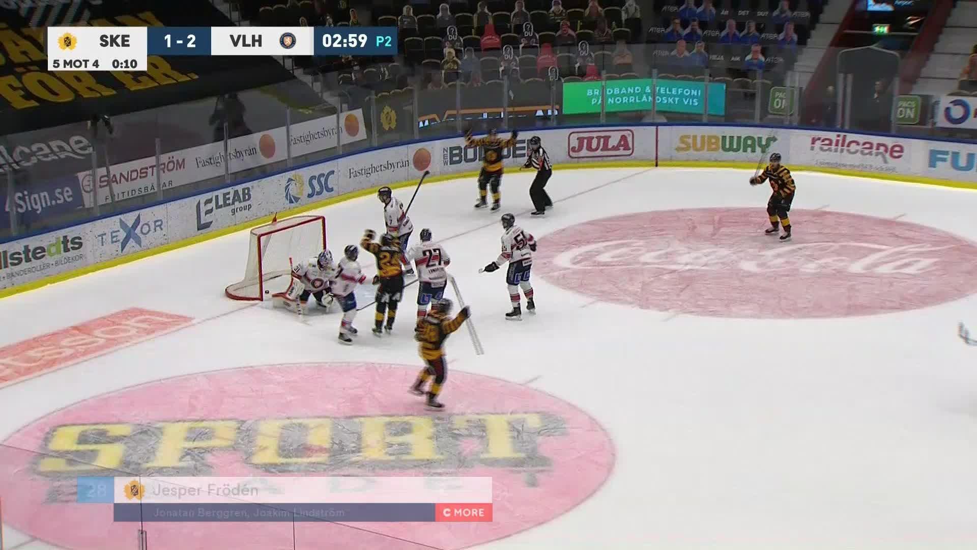 Skellefteå AIK - Växjö Lakers 2-2