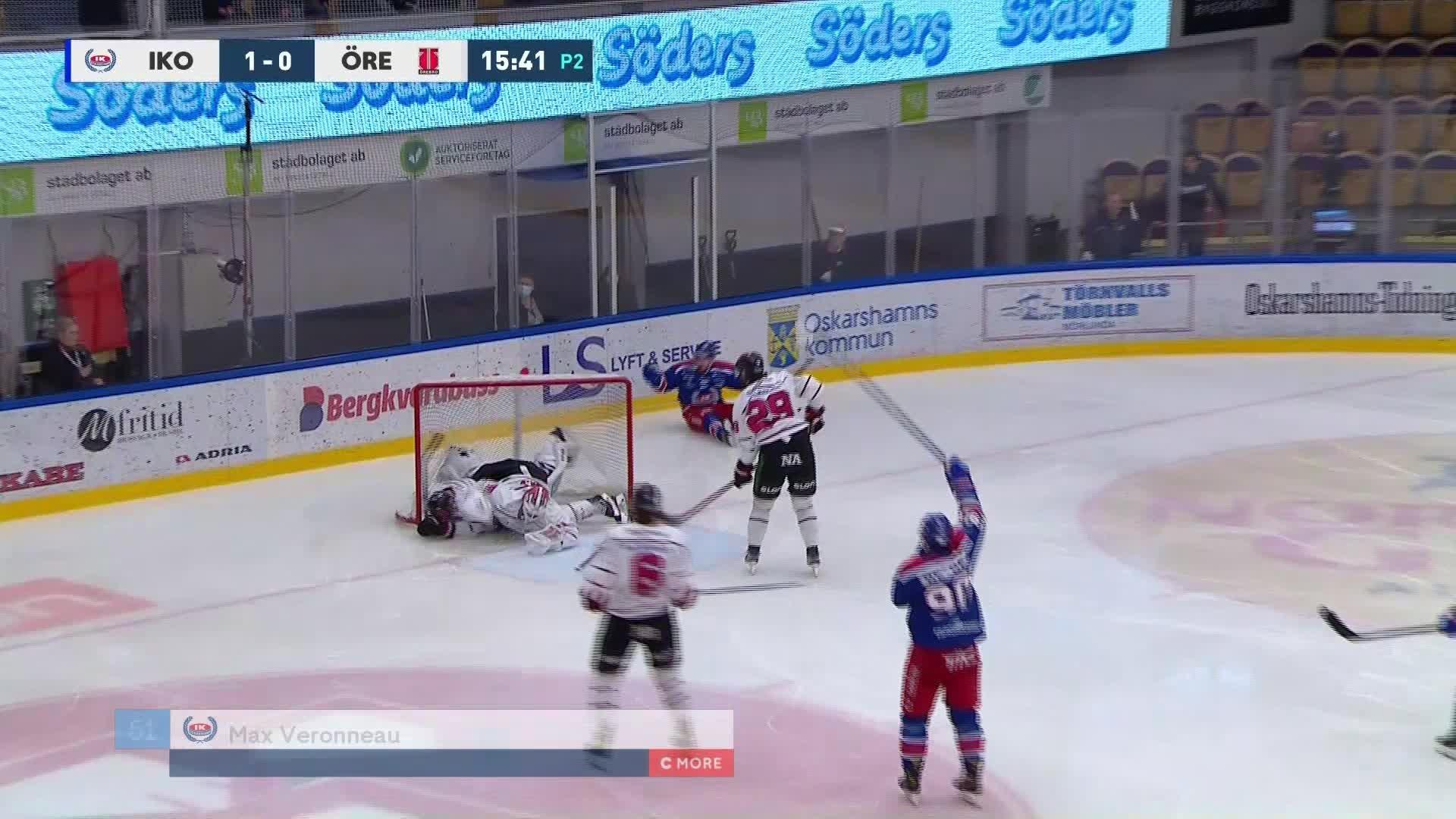 IK Oskarshamn - Örebro Hockey 2-0