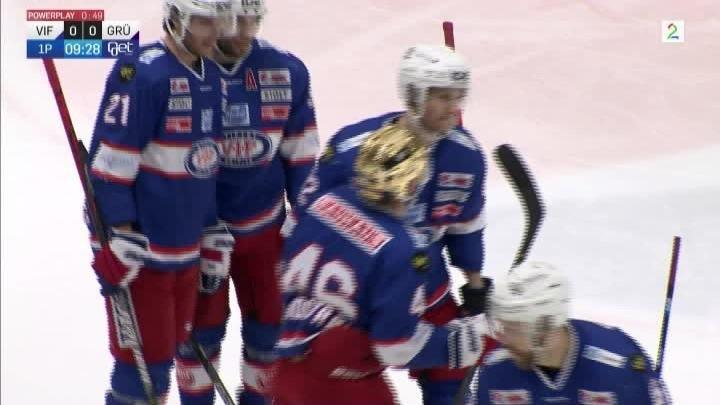 Vålerenga - Grüner Hockey 2 februar 2020