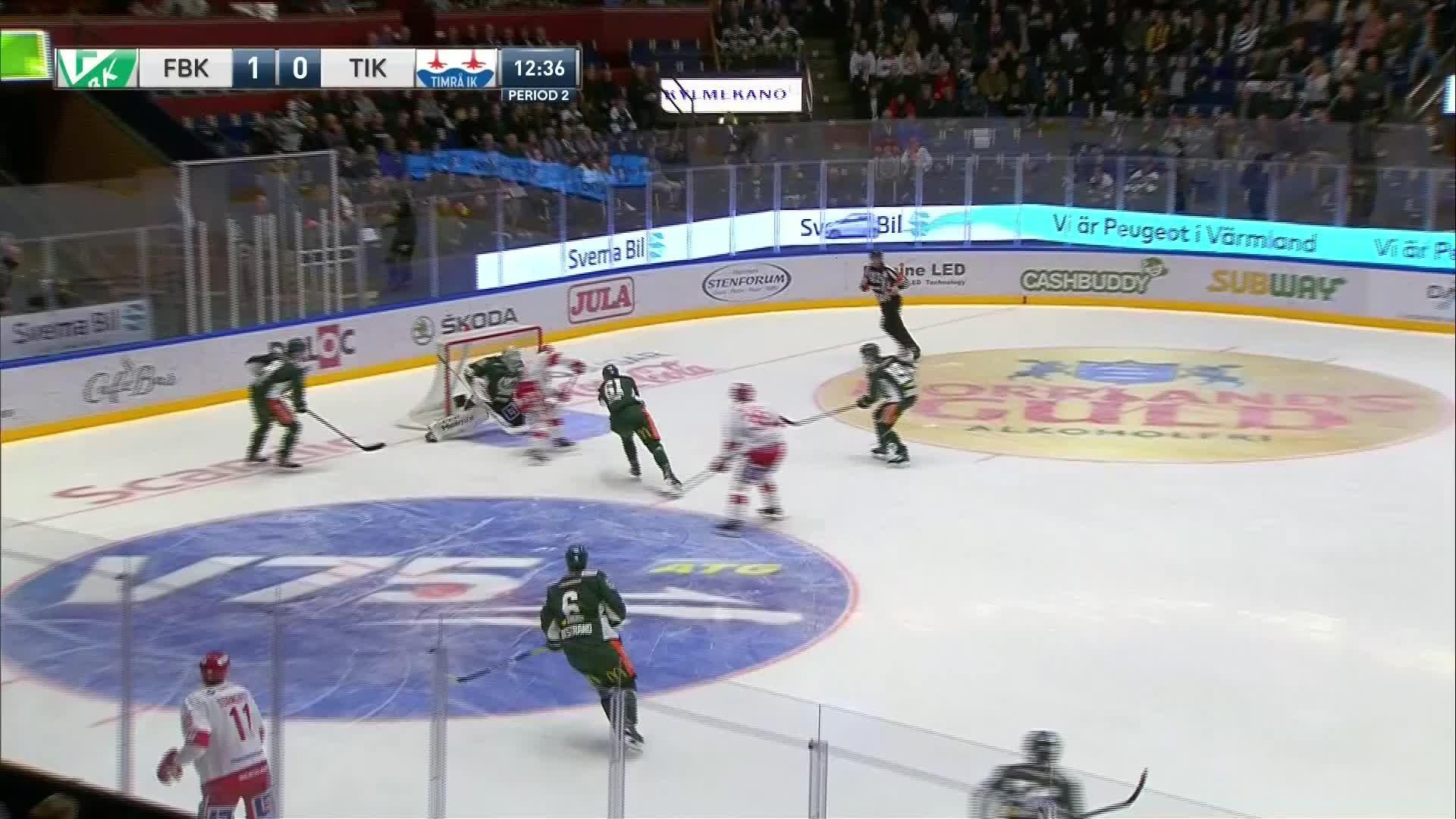 Färjestad BK - Timrå IK 1-1