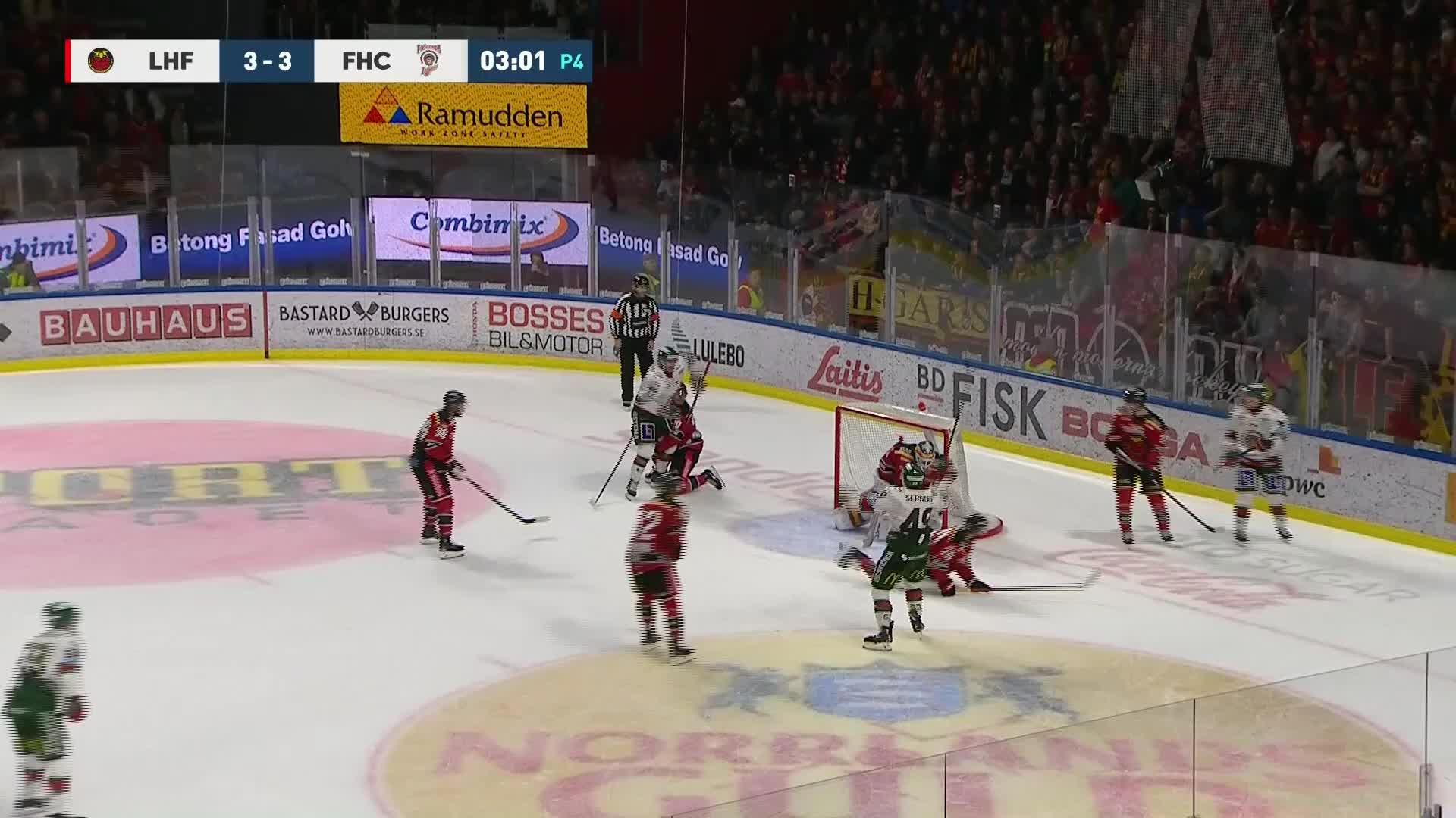 Luleå Hockey - Frölunda HC 3-4