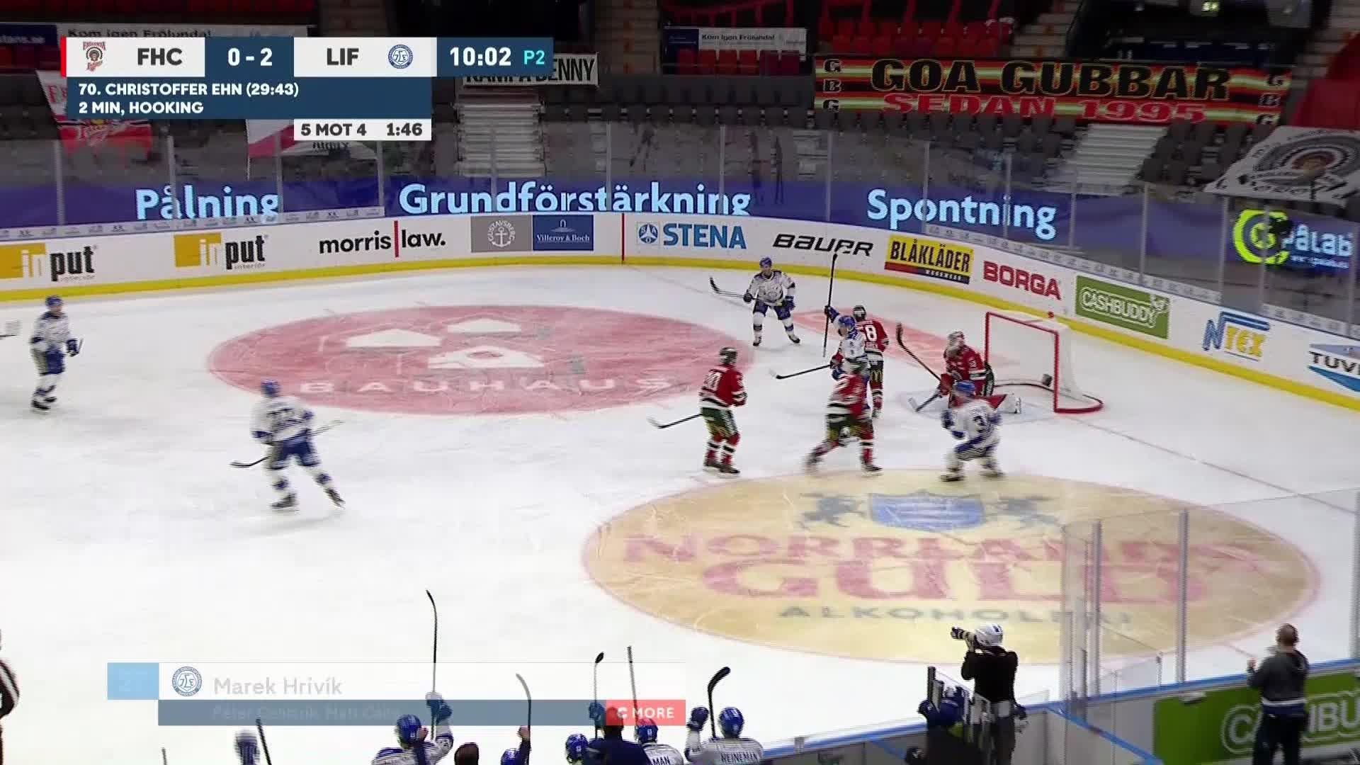 Frölunda HC - Leksands IF 0-3