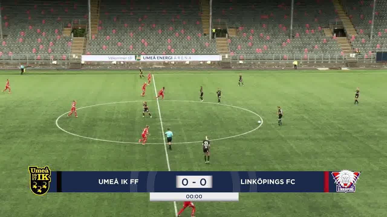 Highlights: Umeå IK – Linköping 24 juli
