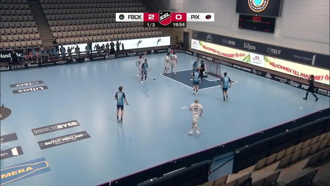 Highlights: FBC Kalmarsund - Pixbo Wallenstam IBK