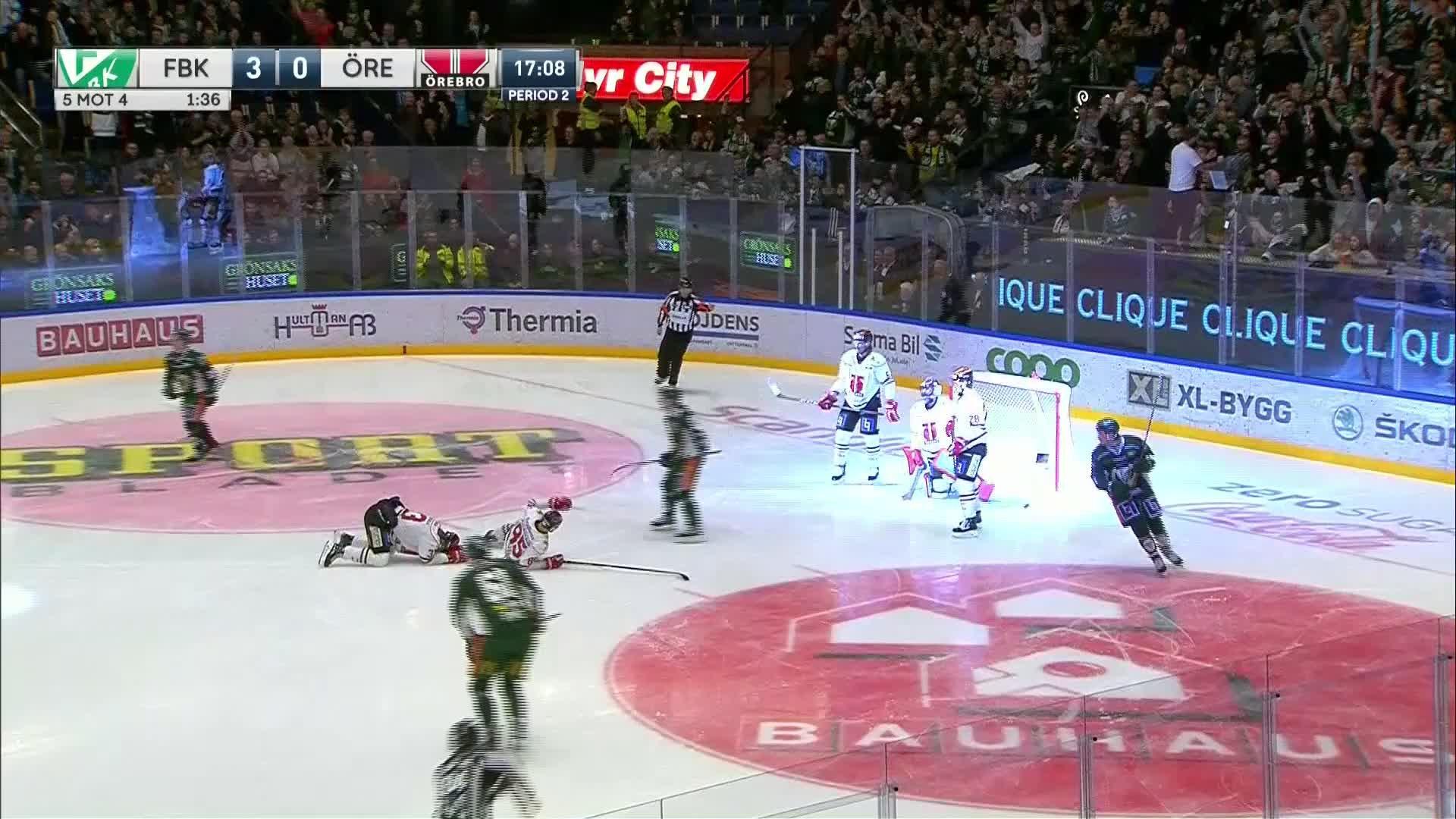 Färjestad BK - Örebro Hockey 4-0