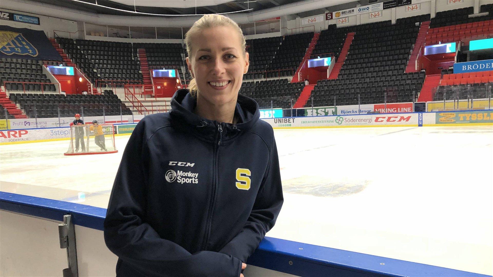 Danijela Rundqvist inför första matchen i SSK!