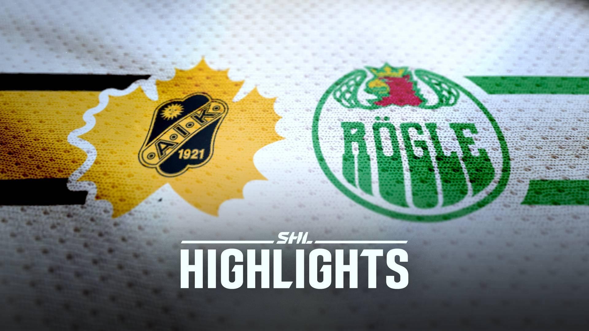 Skellefteå AIK - Rögle BK