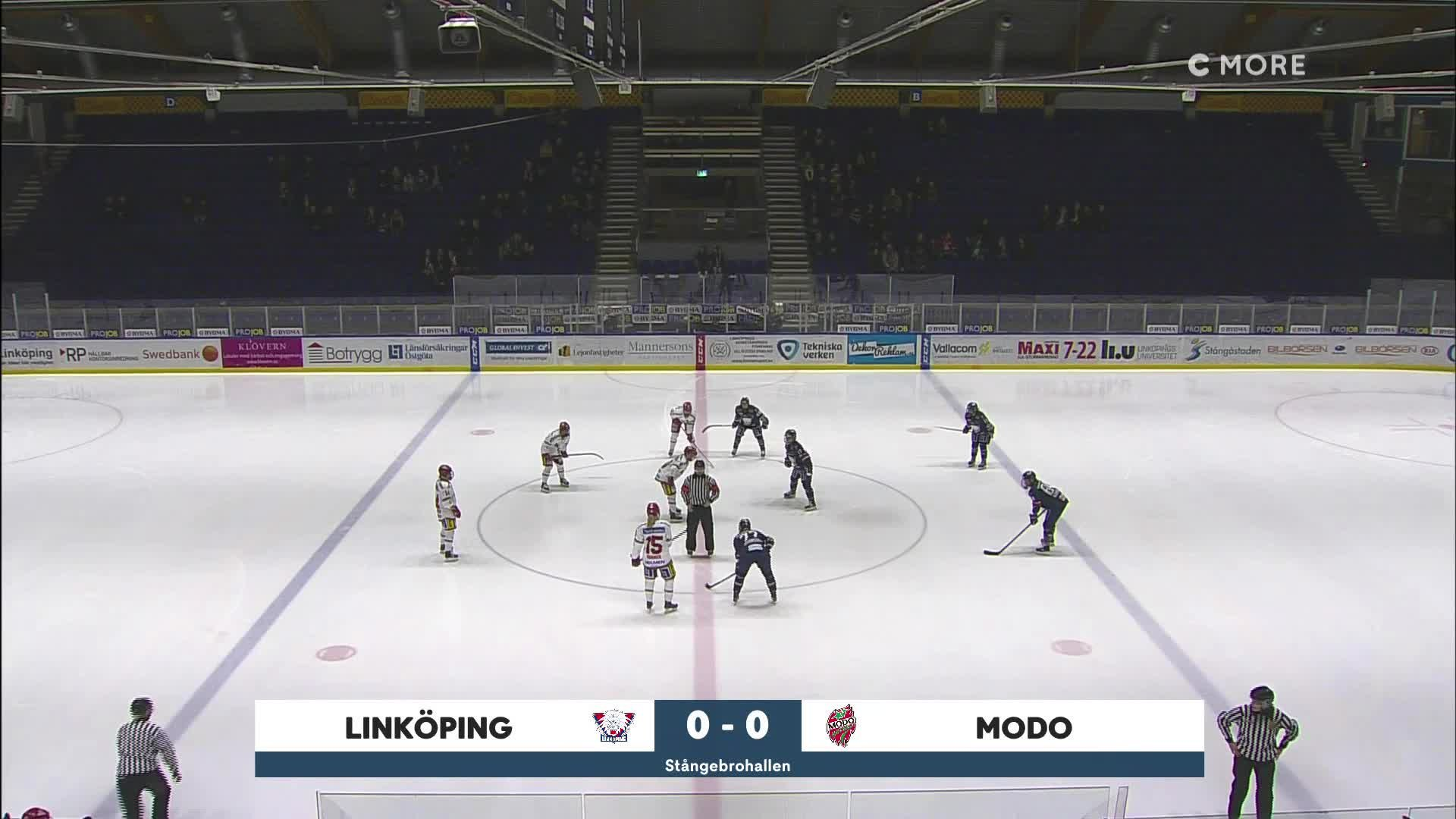 Highlights Linköping-MODO 15 februari