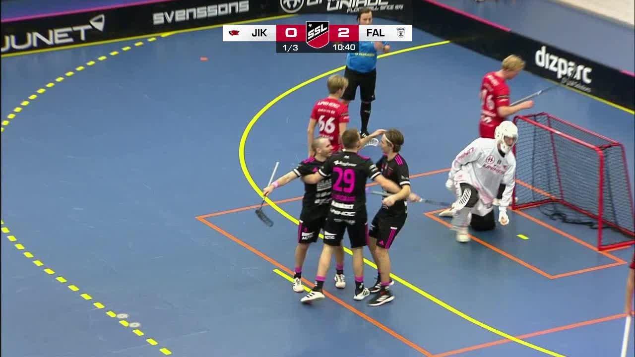 Highlights: Jönköpings IK - IBF Falun