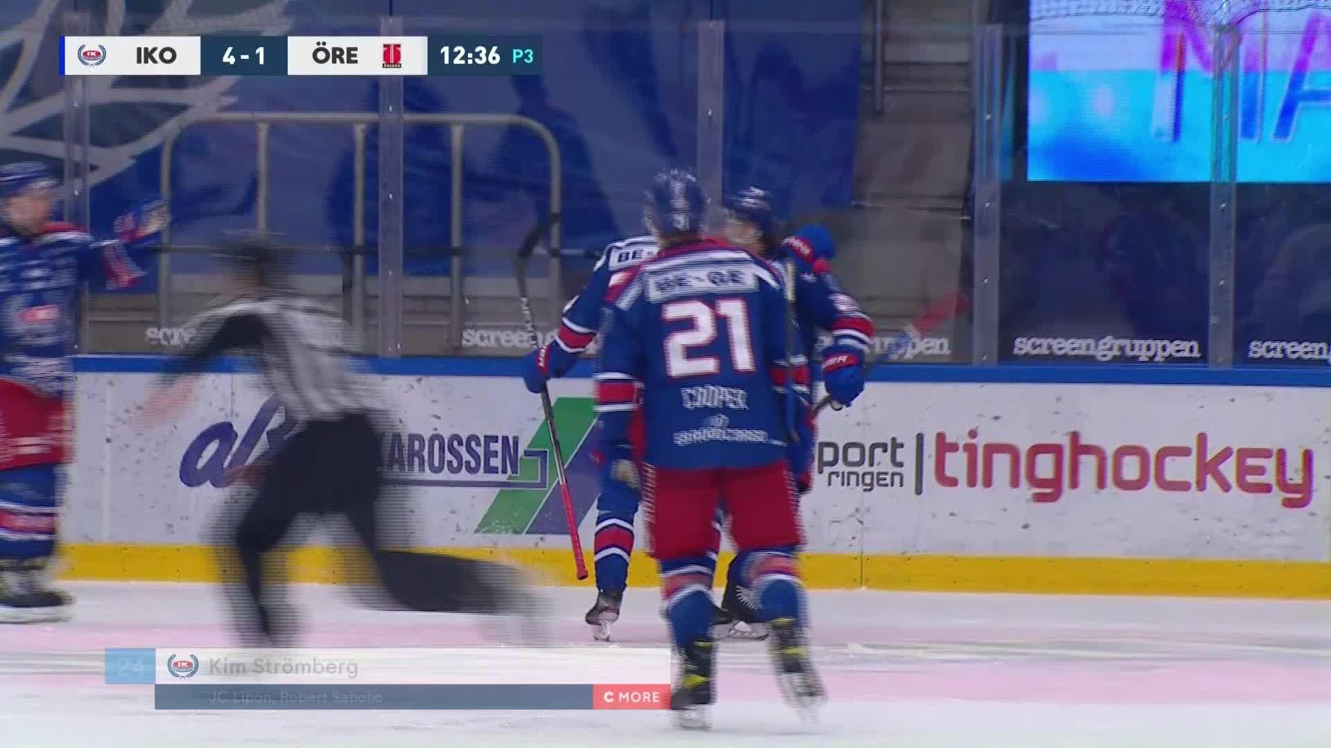 IK Oskarshamn - Örebro Hockey 5-1