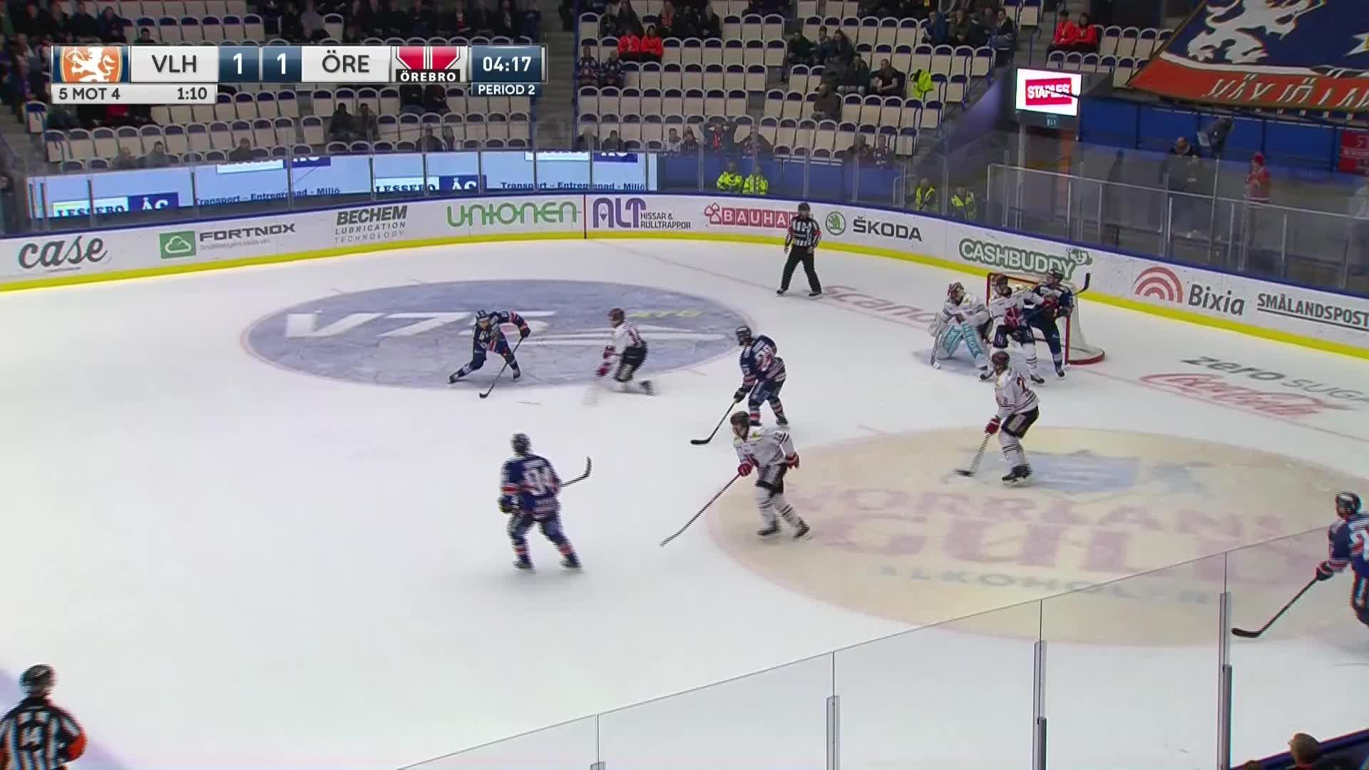 Växjö Lakers - Örebro Hockey 2-1