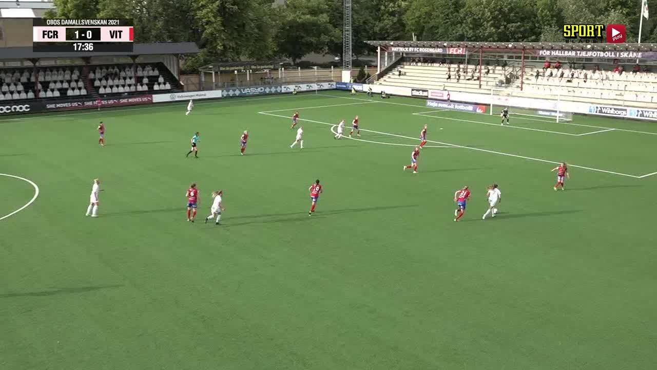 Highlights: FC Rosengård - Vittsjö GIK