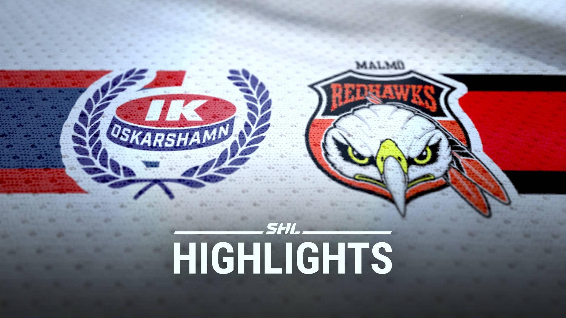 IK Oskarshamn - Malmö Redhawks