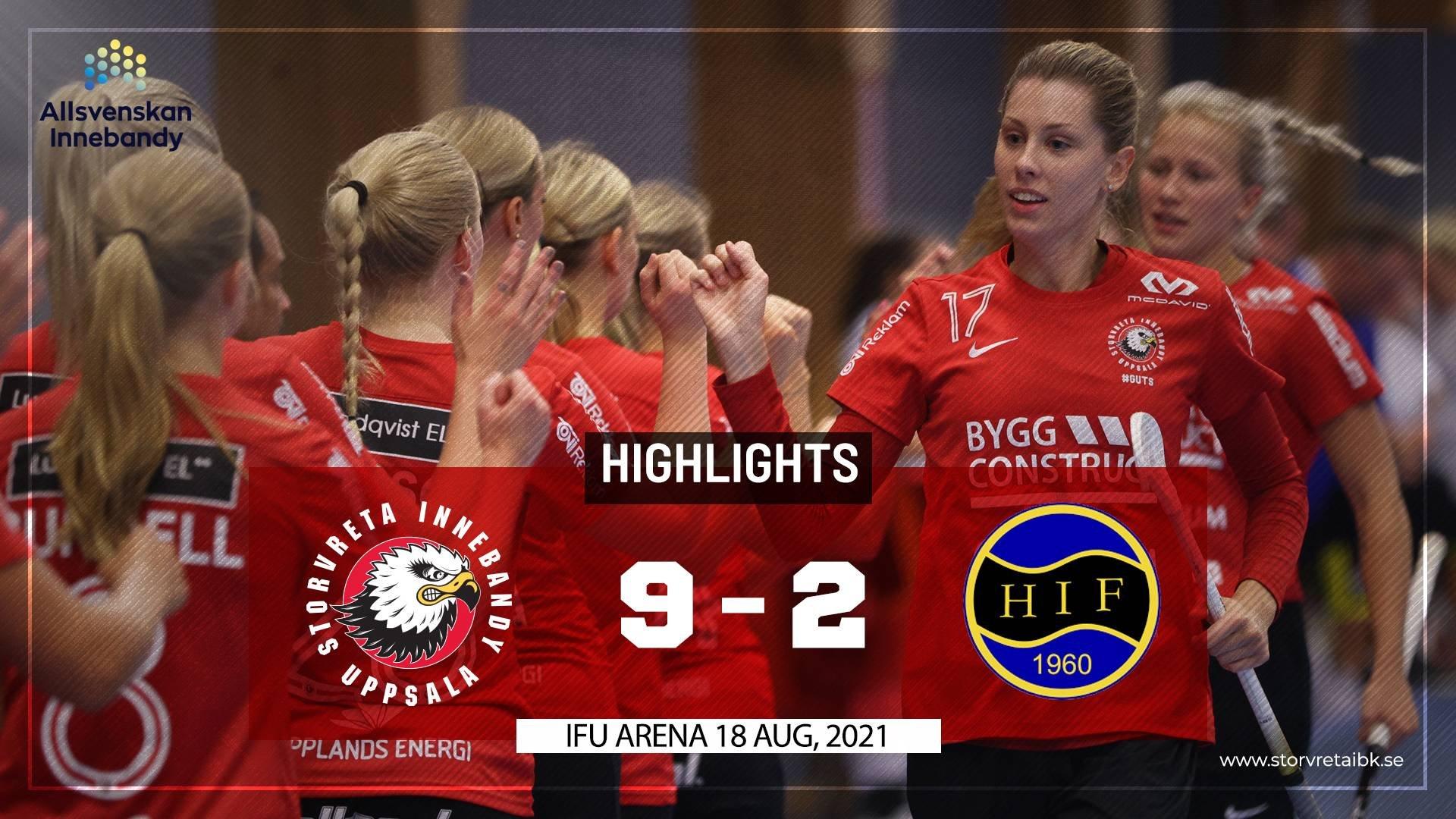 Highlights Storvreta IBK vs Hagunda IF 9-2