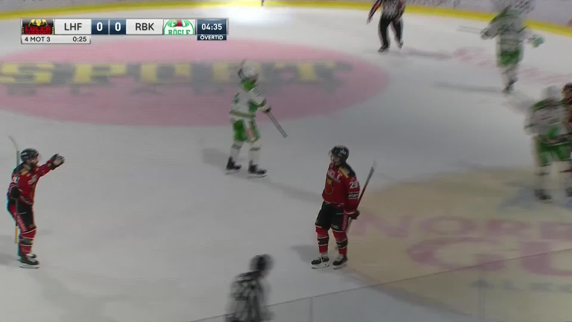 Luleå Hockey - Rögle BK 1-0
