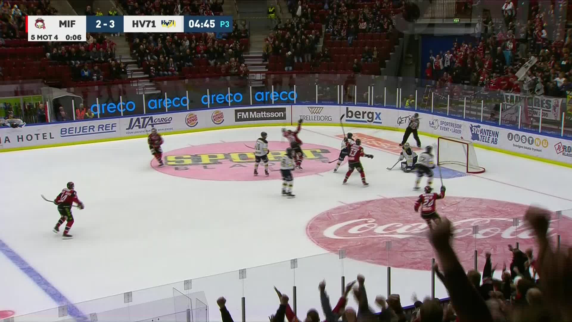 Malmö Redhawks - HV71 3-3