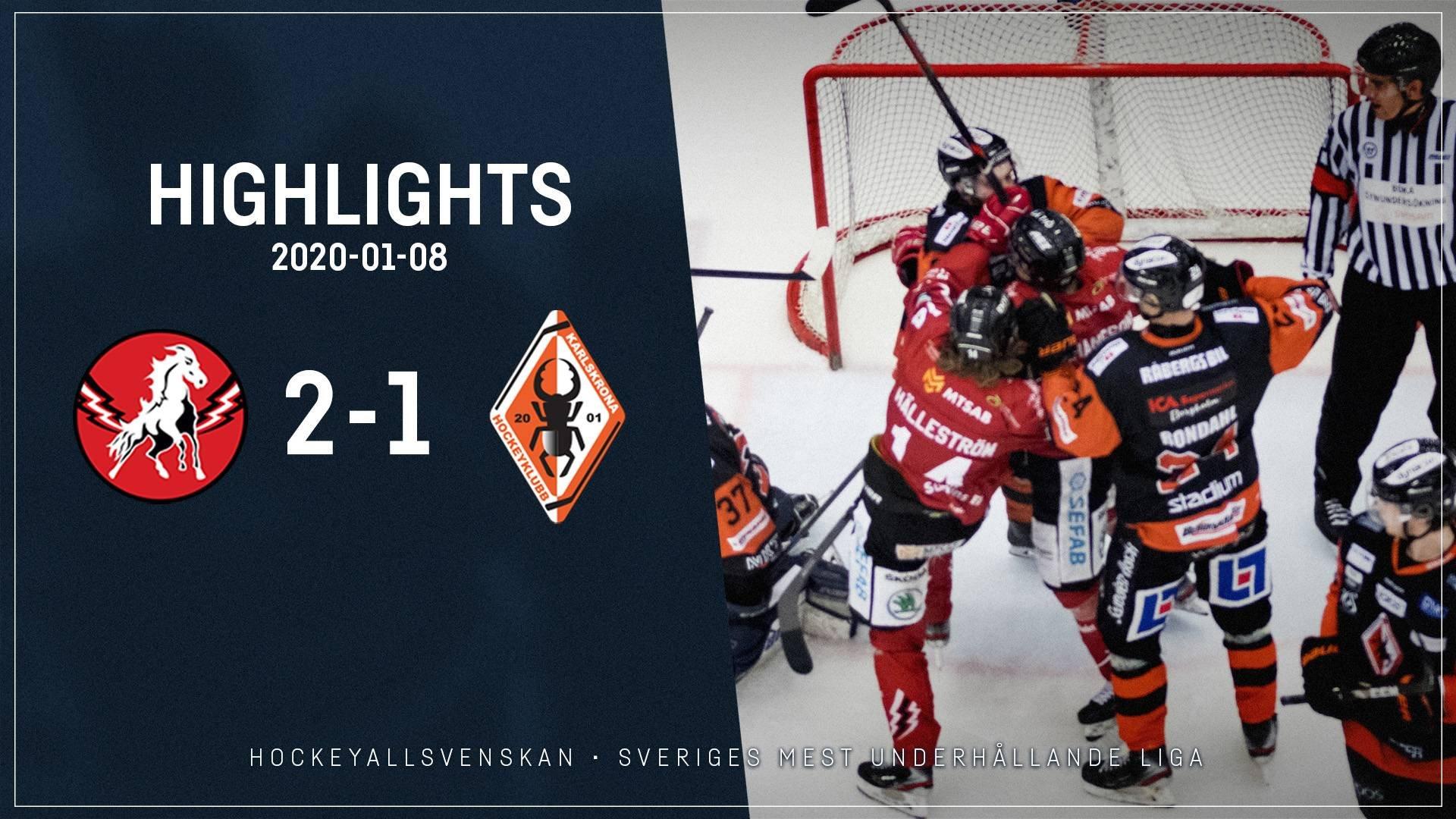 2020-01-08 Vita Hästen - Karlskrona 2-1