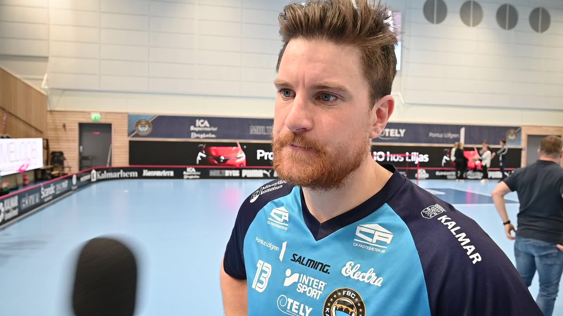 Simon Nilsson efter kvartsfinal 3