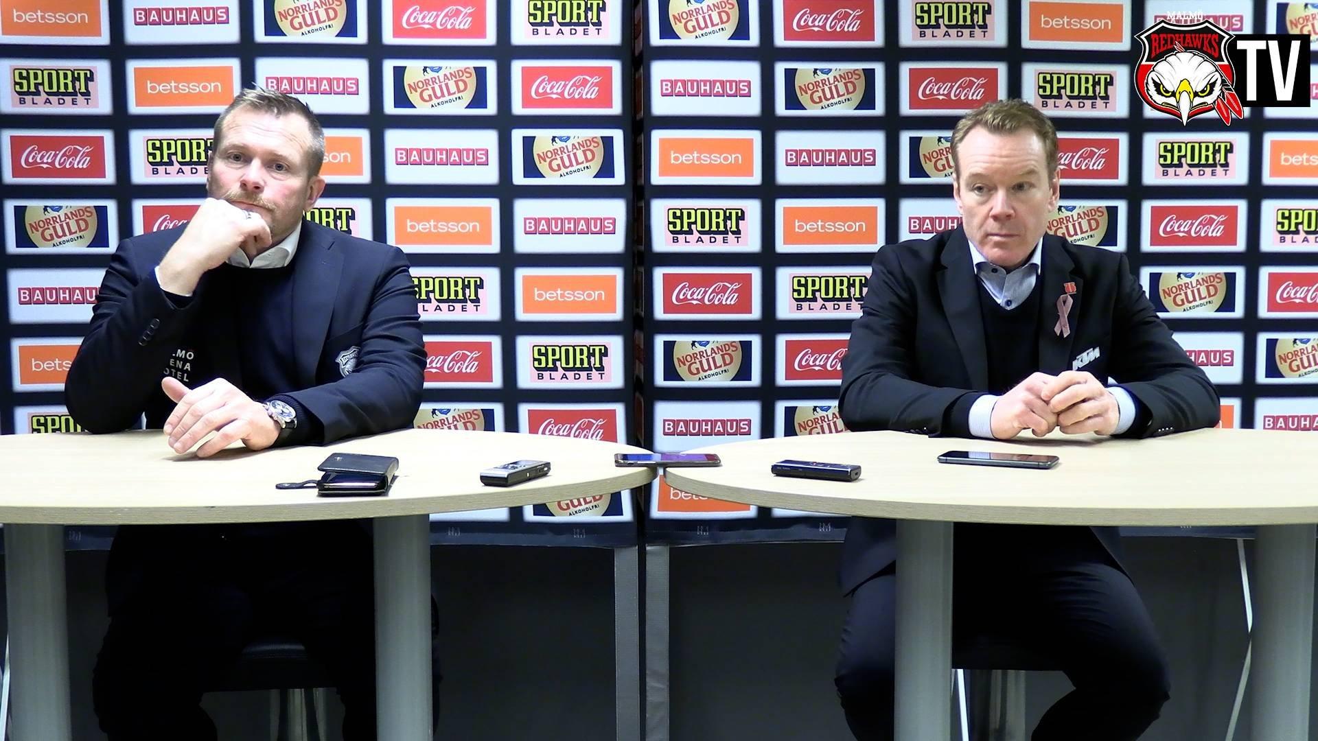 Presskonferens Malmö - Örebro