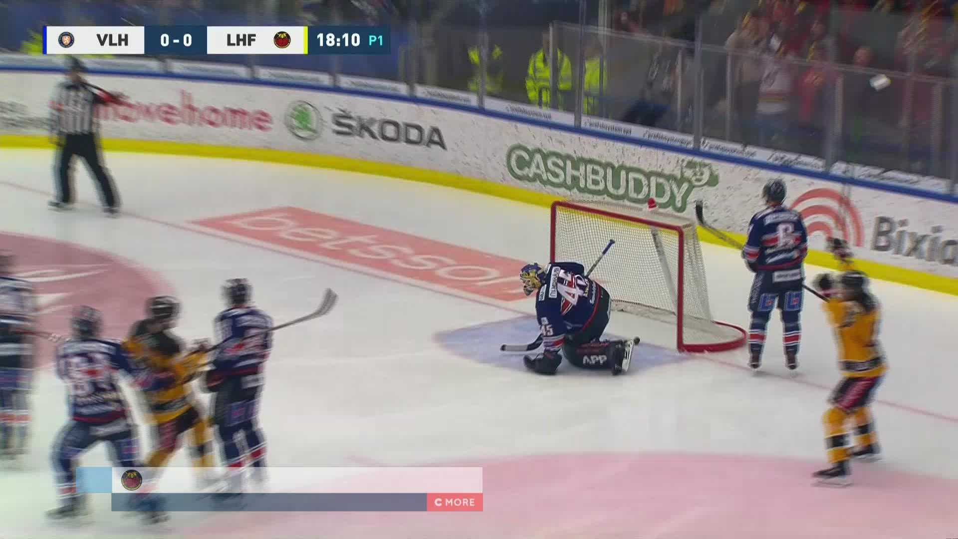 Växjö Lakers - Luleå Hockey 0-1