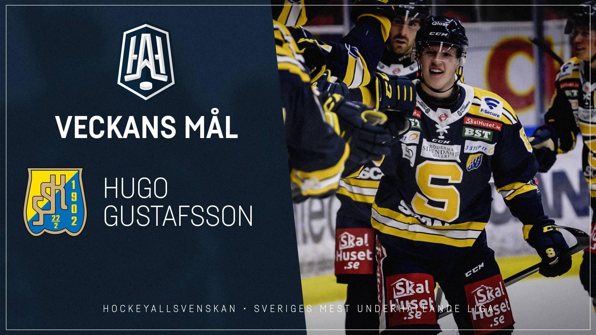 Veckans Mål: Hugo Gustafsson, Södertälje