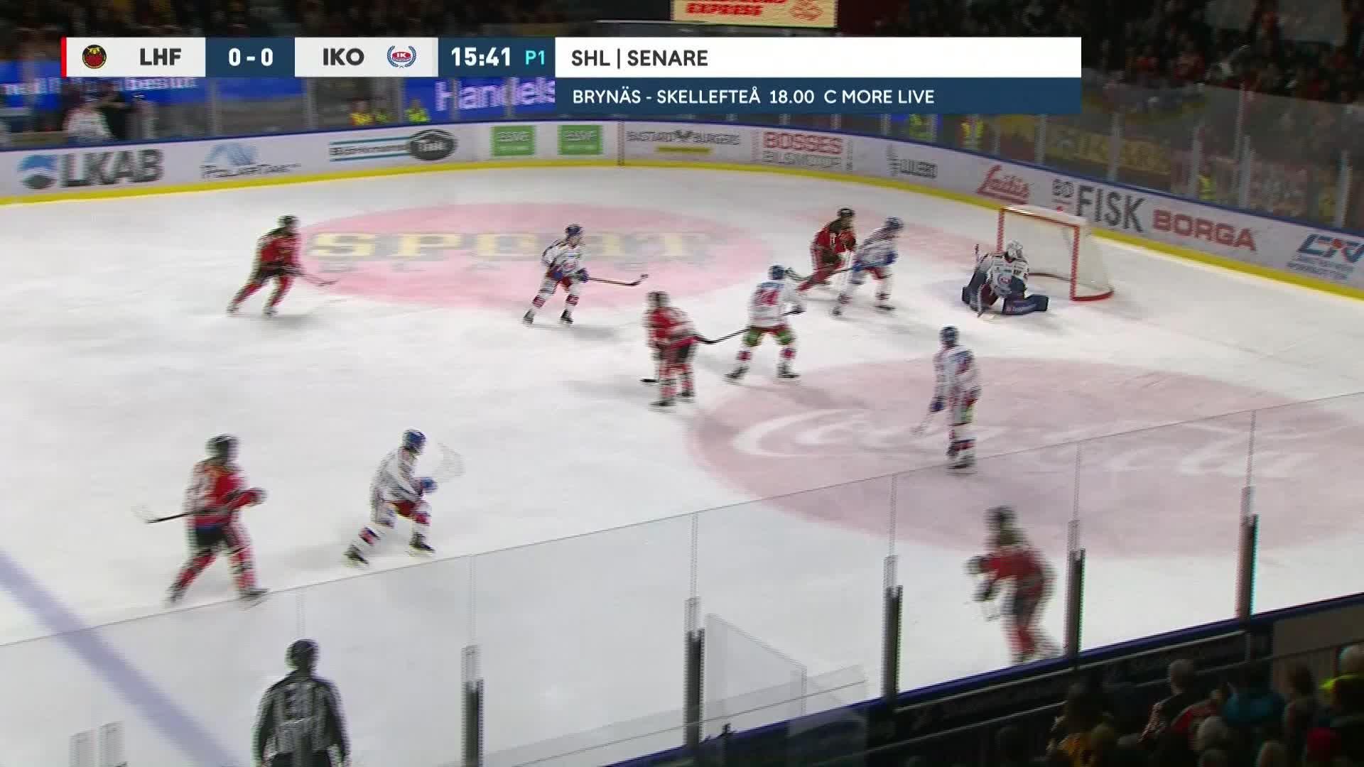 Luleå Hockey - IK Oskarshamn 1-0